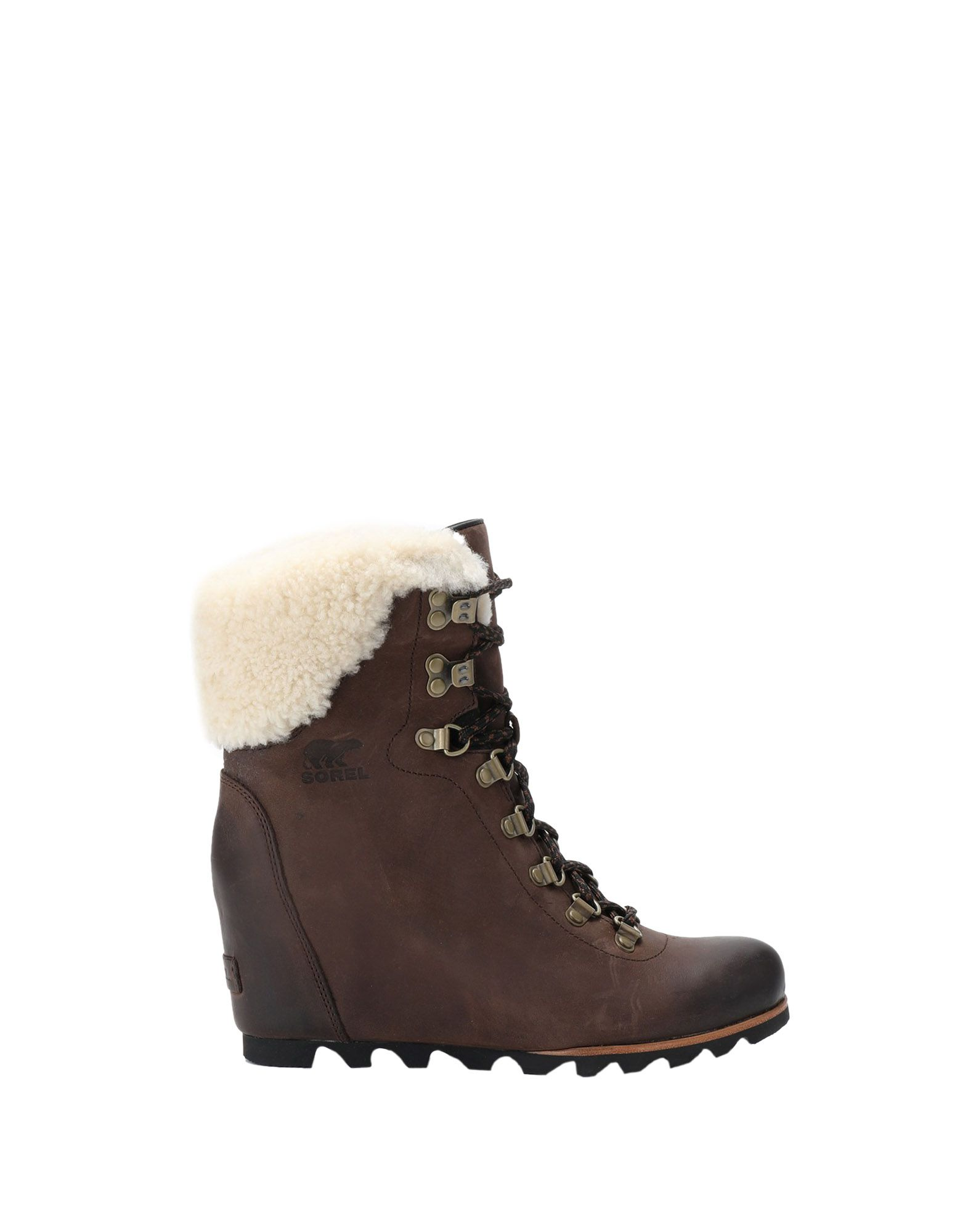 Rabatt Schuhe Wedge Sorel Conquest Wedge Schuhe Shearling  11356913WJ 5fdfb0