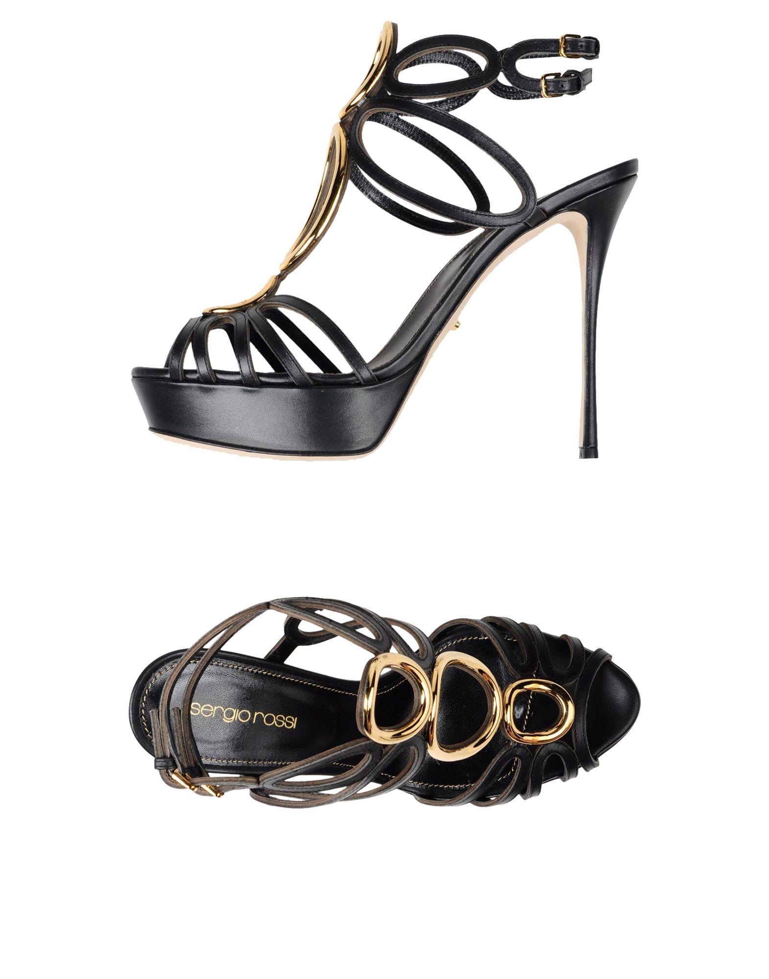 Sergio Rossi Sandalen Damen  11358165OI Neue Schuhe