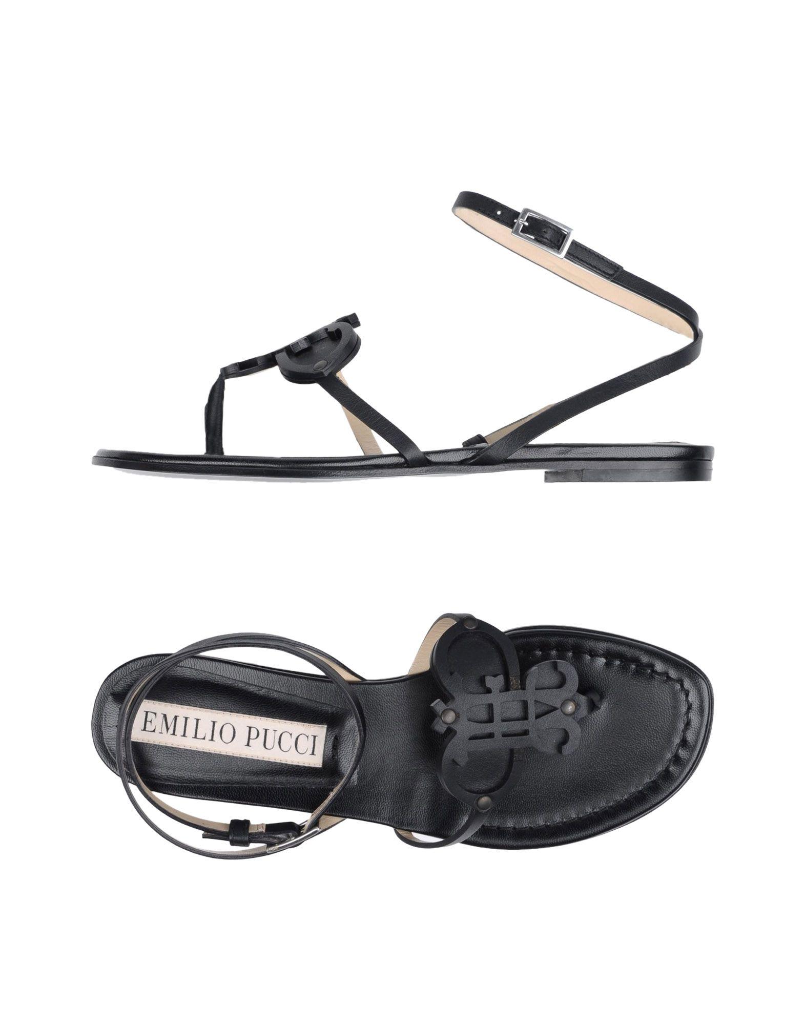 Stilvolle billige Schuhe Emilio Pucci Dianetten Damen  11358241CV