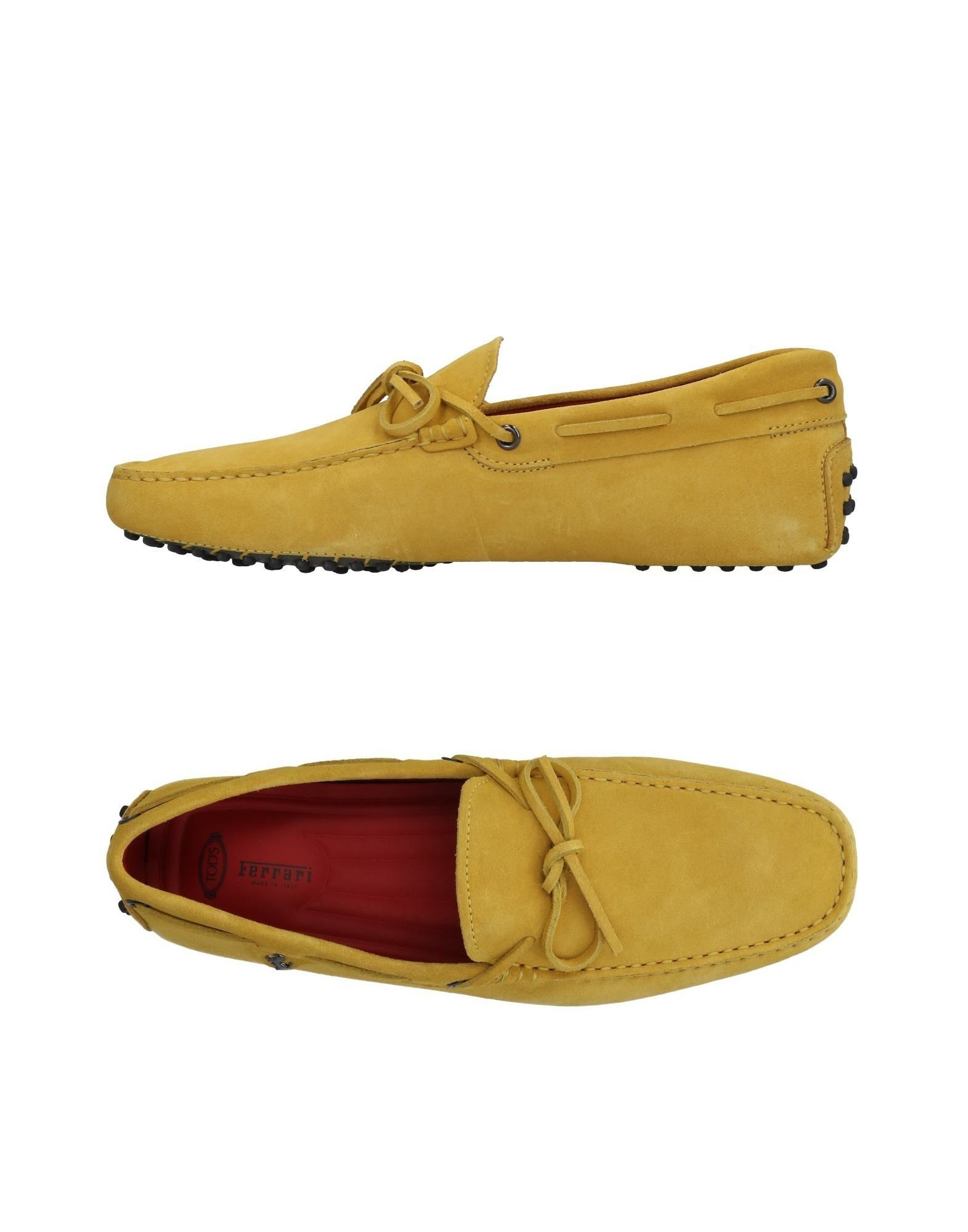 Tod's For Ferrari Loafers - Loafers Men Tod's For Ferrari Loafers - online on  Canada - 11359079AR 4126d8