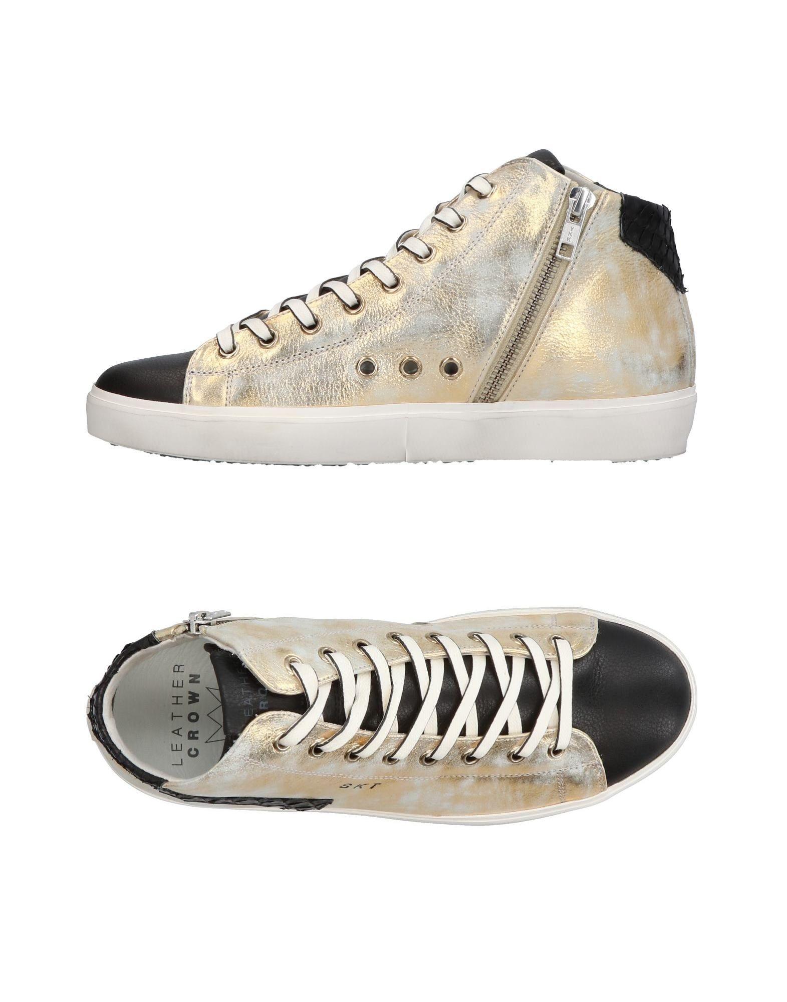 Gut um billige Schuhe zu tragenLeather Crown Sneakers Damen  11359135UN