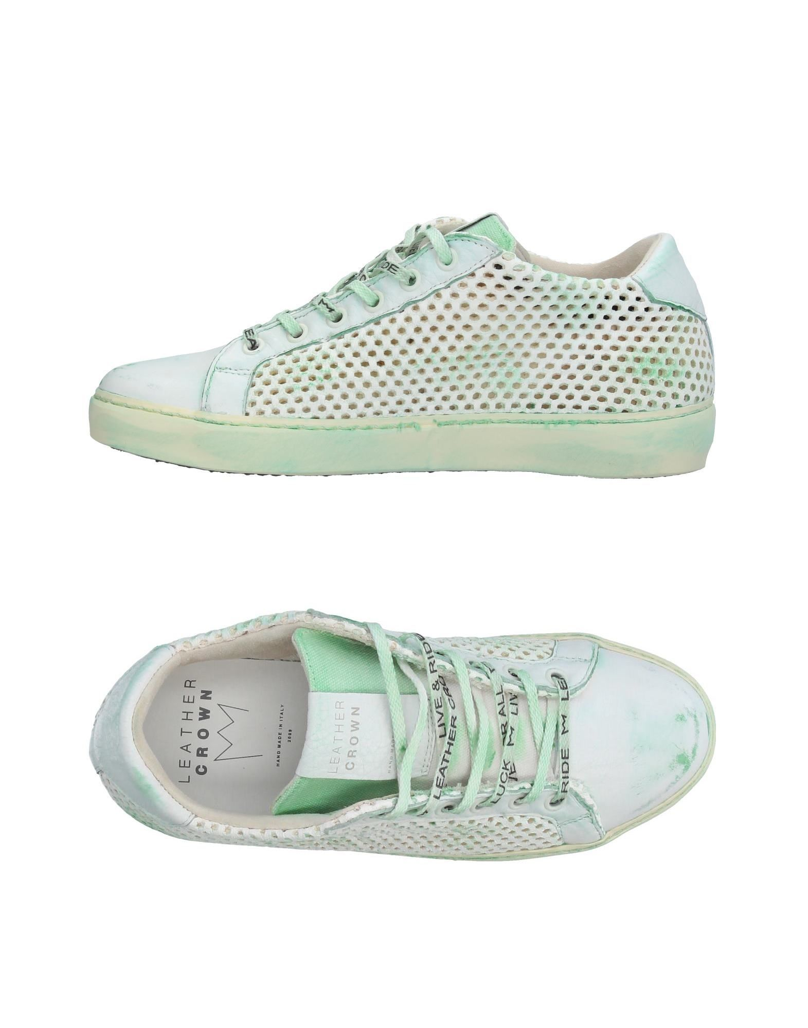Sneakers Leather Crown Donna - 11359142JM