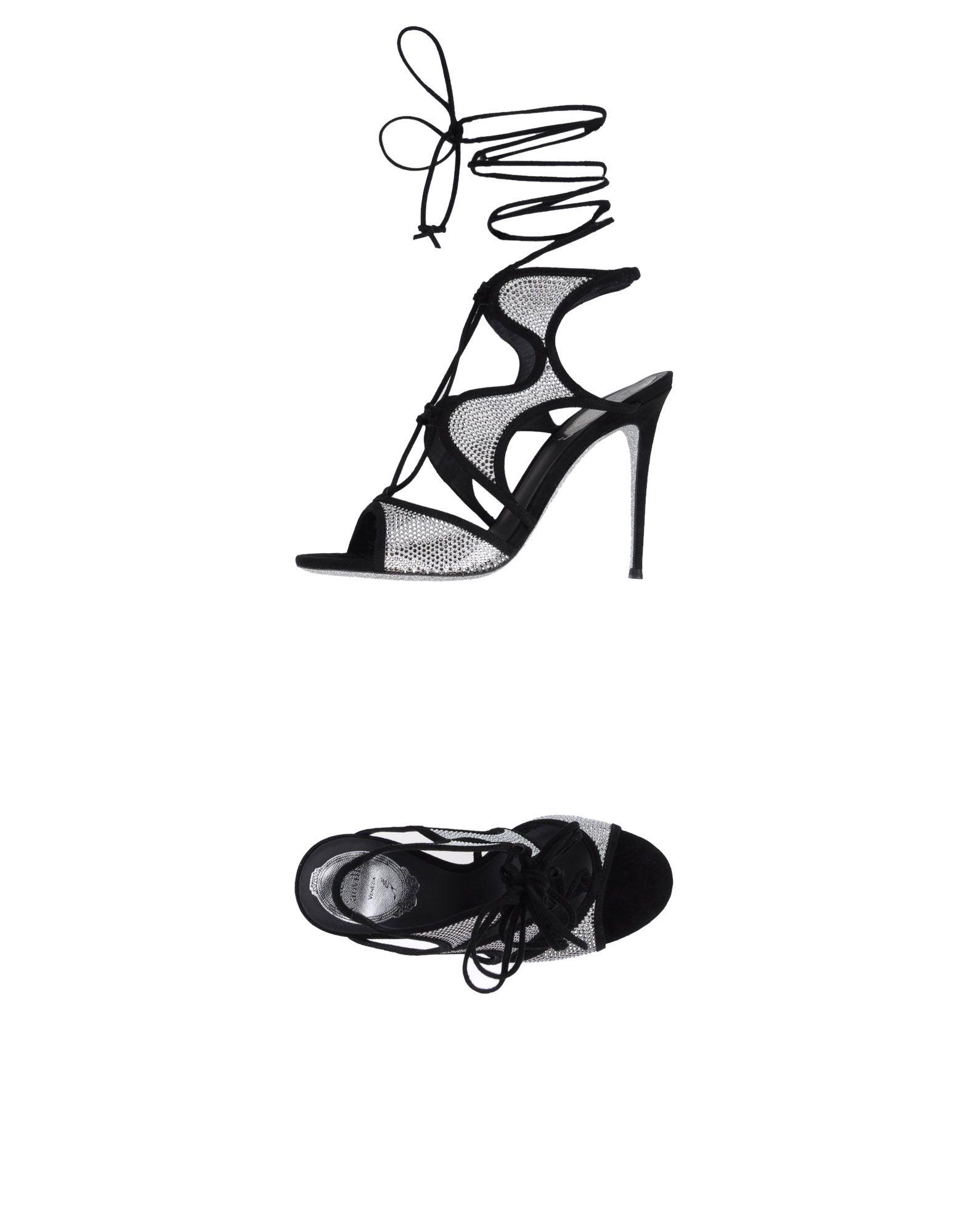 Rene' Caovilla Sandalen aussehende Damen  11359145AKGünstige gut aussehende Sandalen Schuhe ef7074