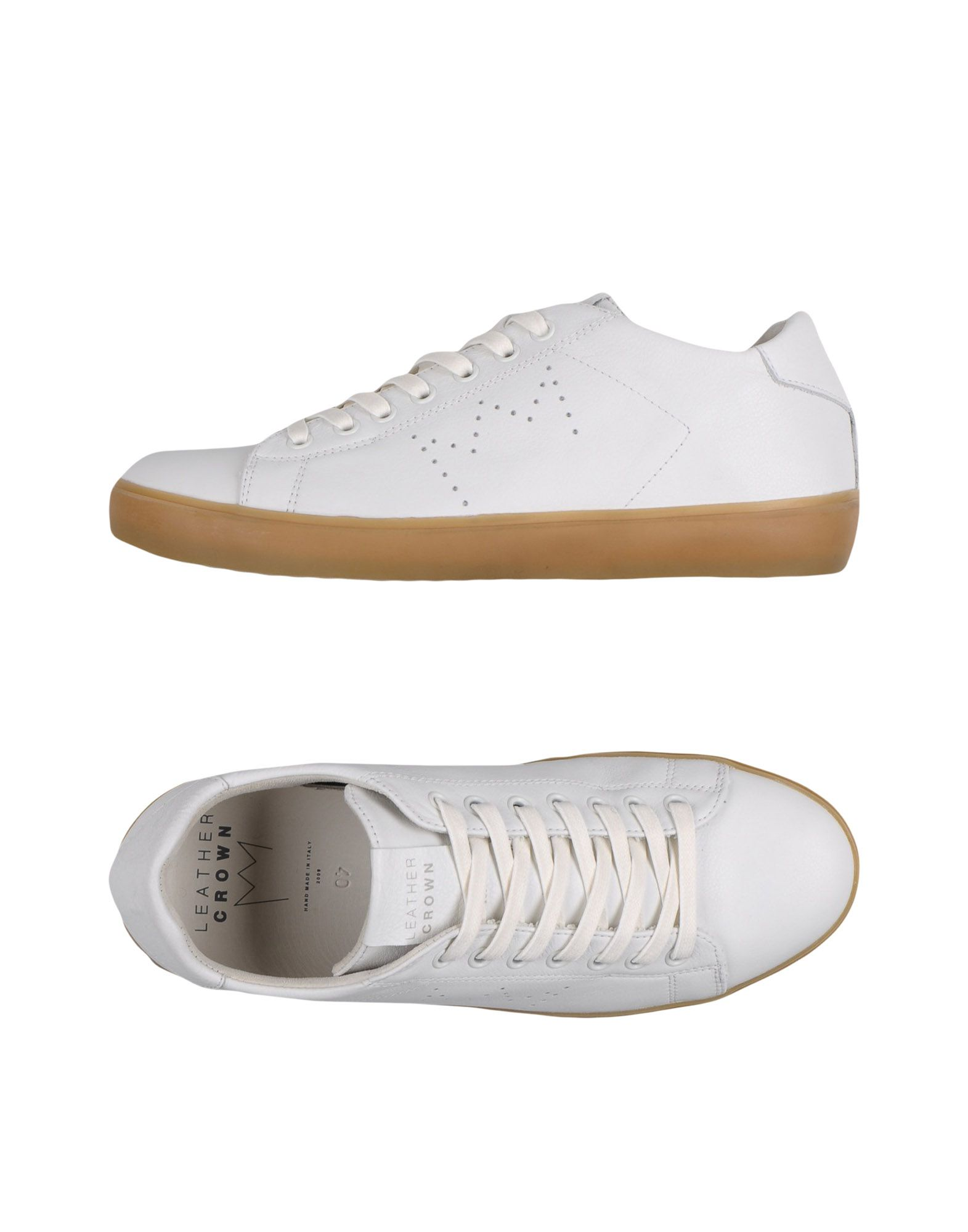 SOLD OUT         Sneakers Leather Crown Uomo - Acquista online su