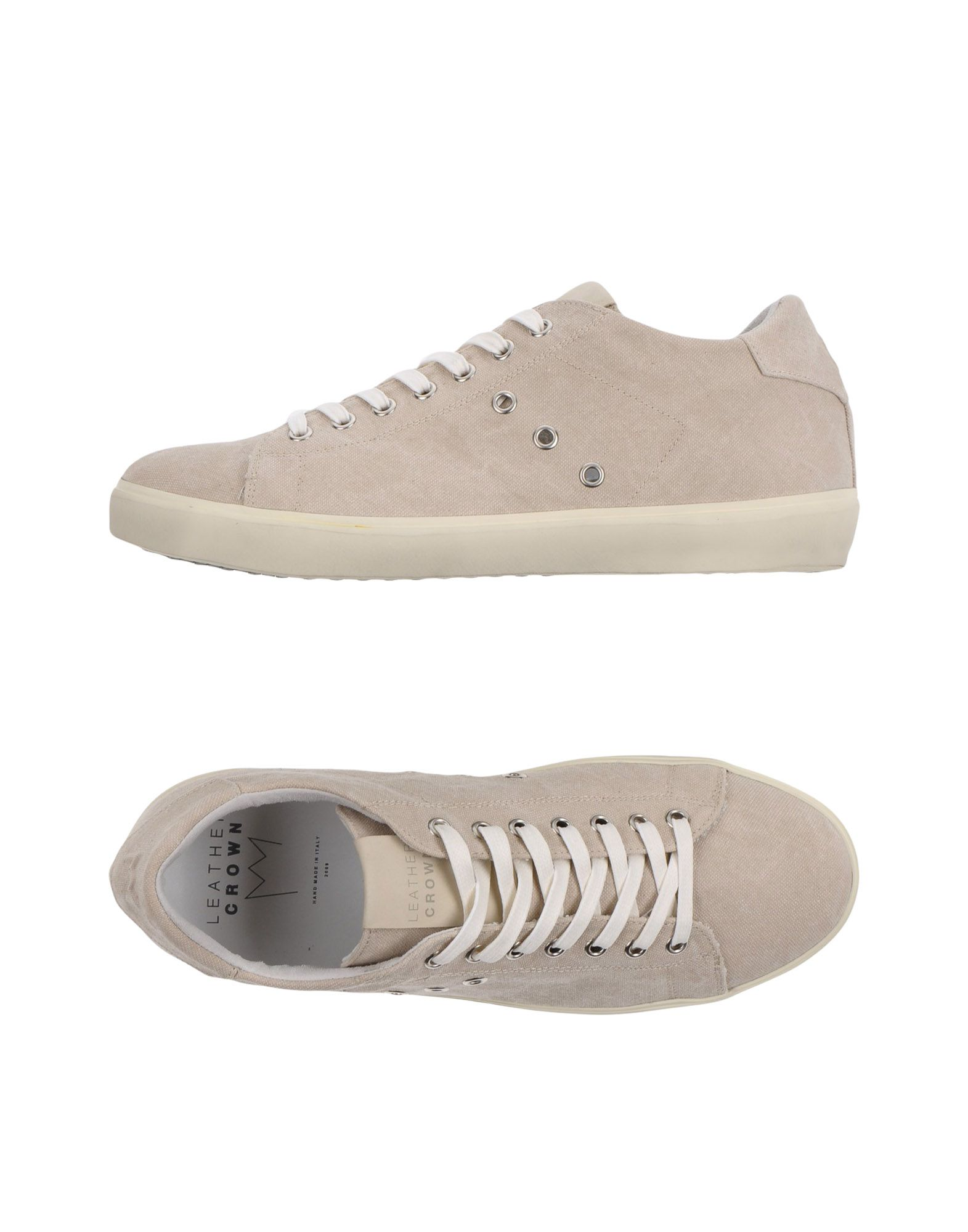 Leather Crown Sneakers Herren  11359166OX 11359166OX  a643e2