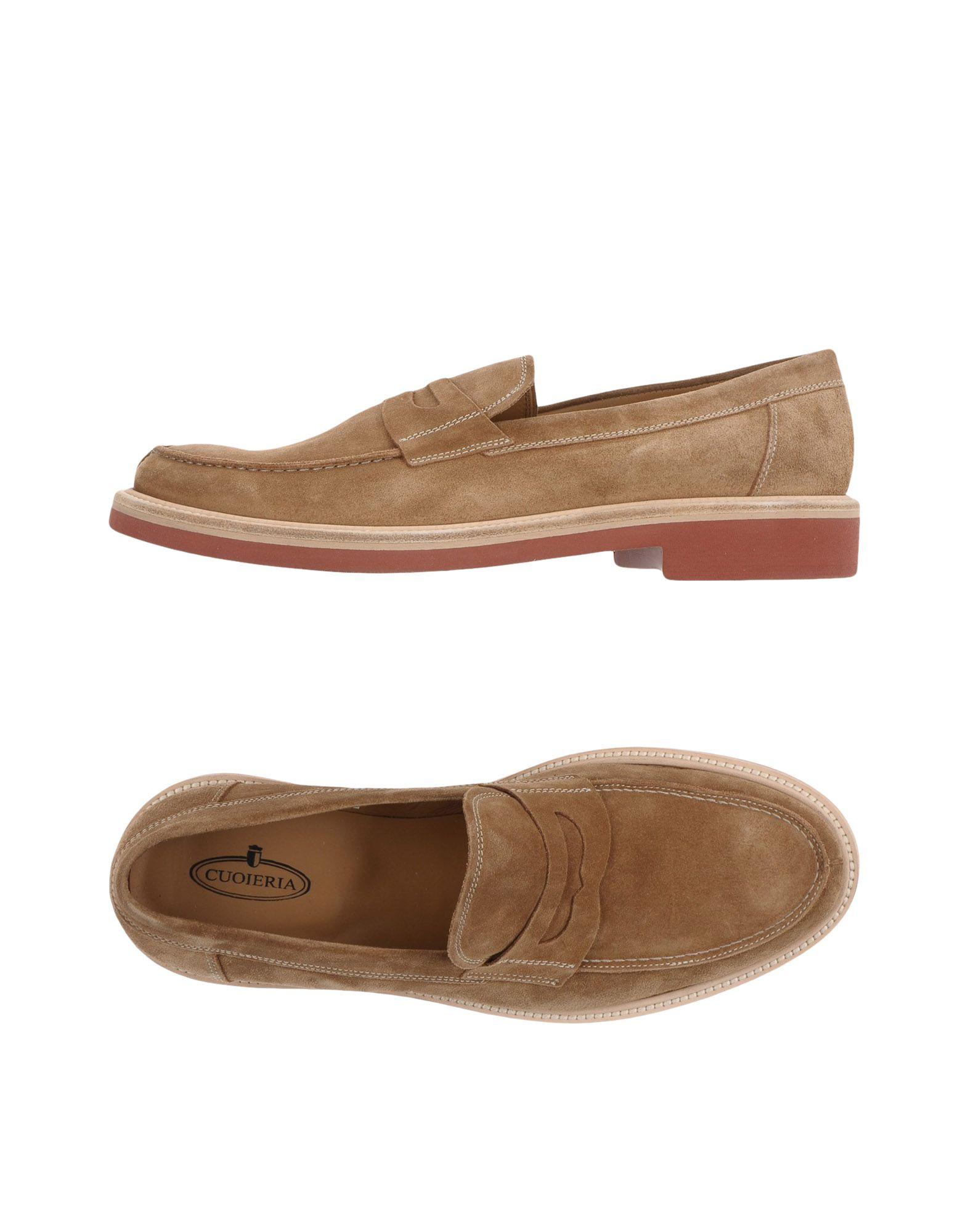 Rabatt echte Schuhe Cuoieria Mokassins Herren  11359639MU