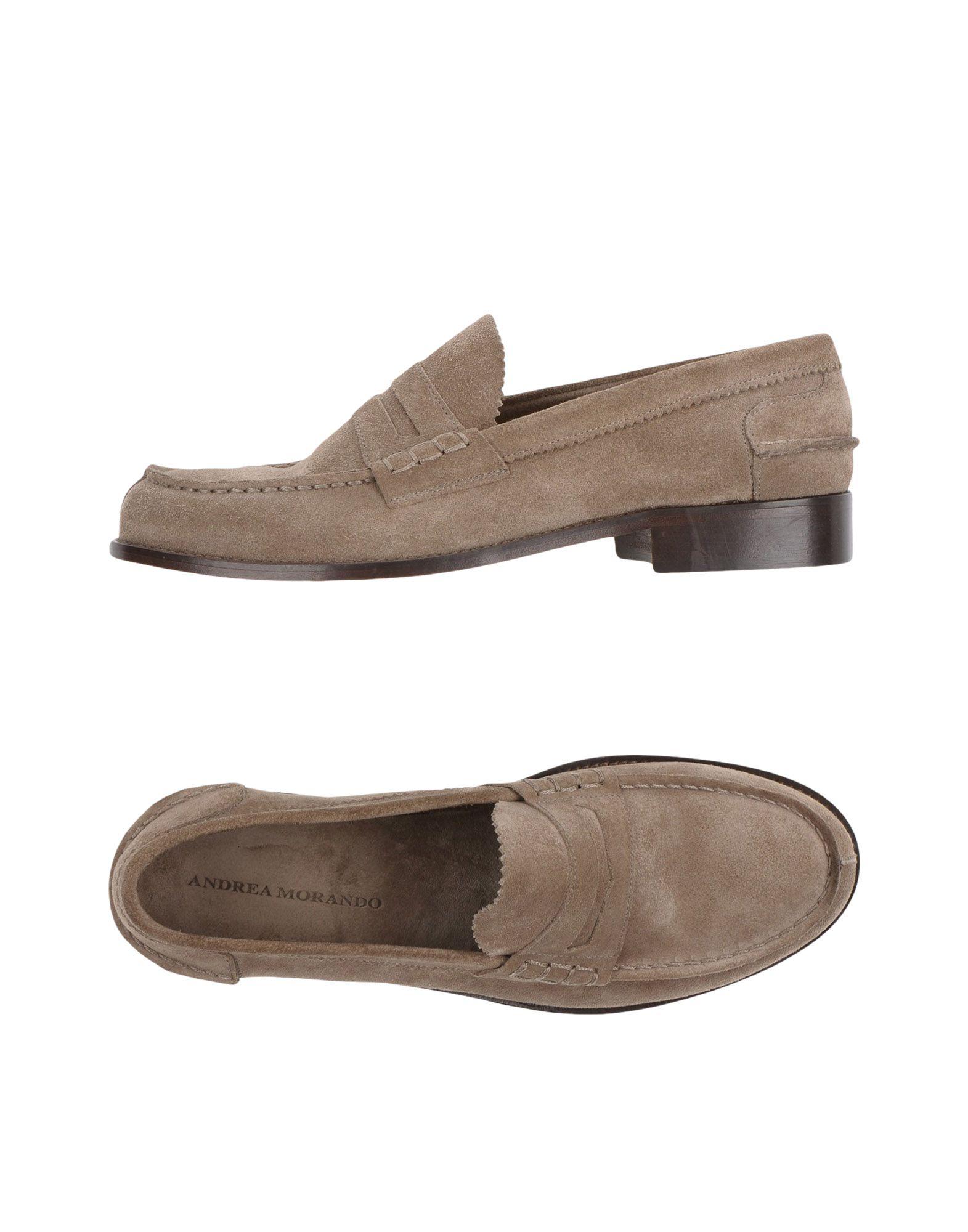 Rabatt echte Schuhe Andrea Morando Mokassins Herren  11359834BK