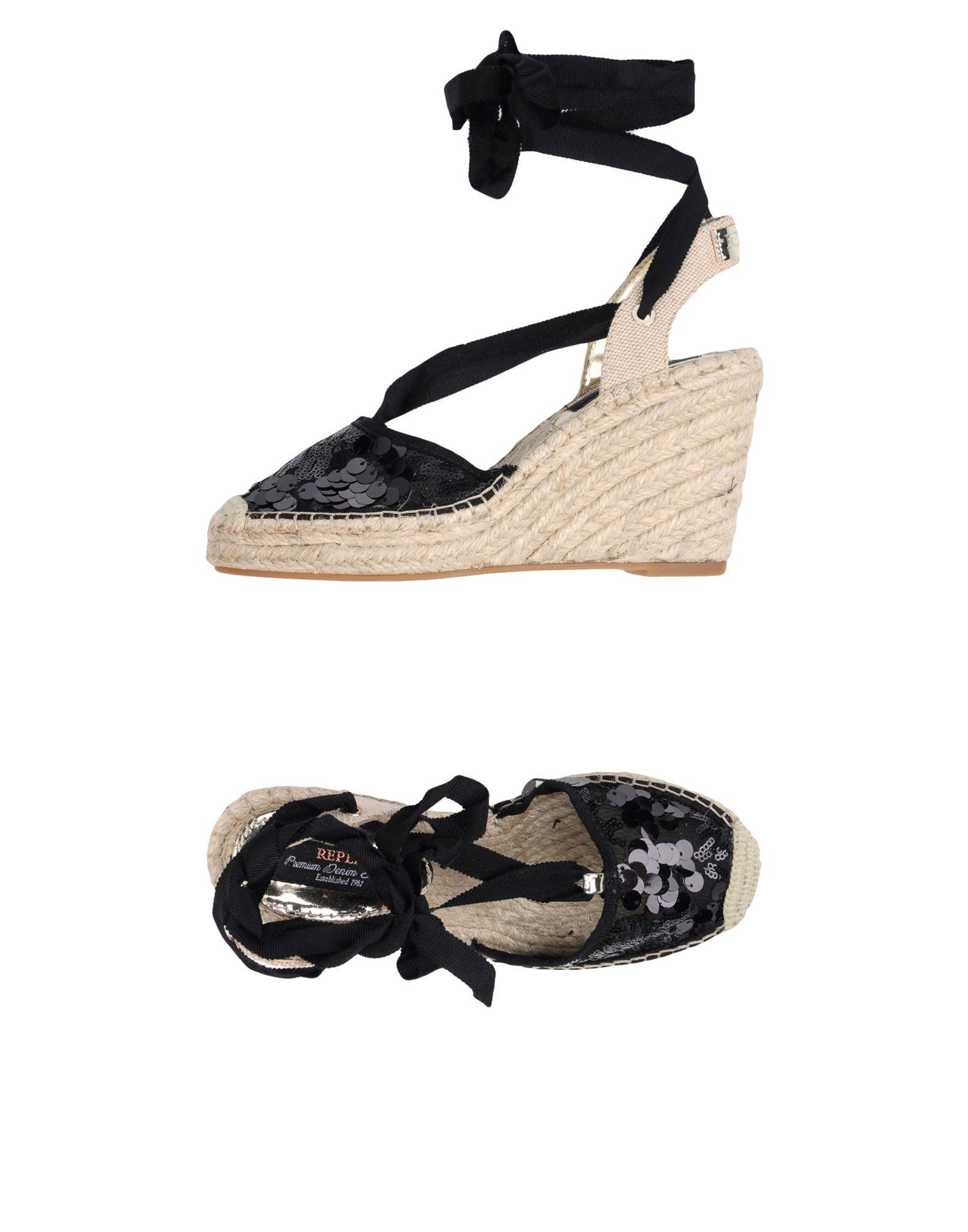 Replay Espadrilles Damen  11359844PM Gute Qualität beliebte Schuhe