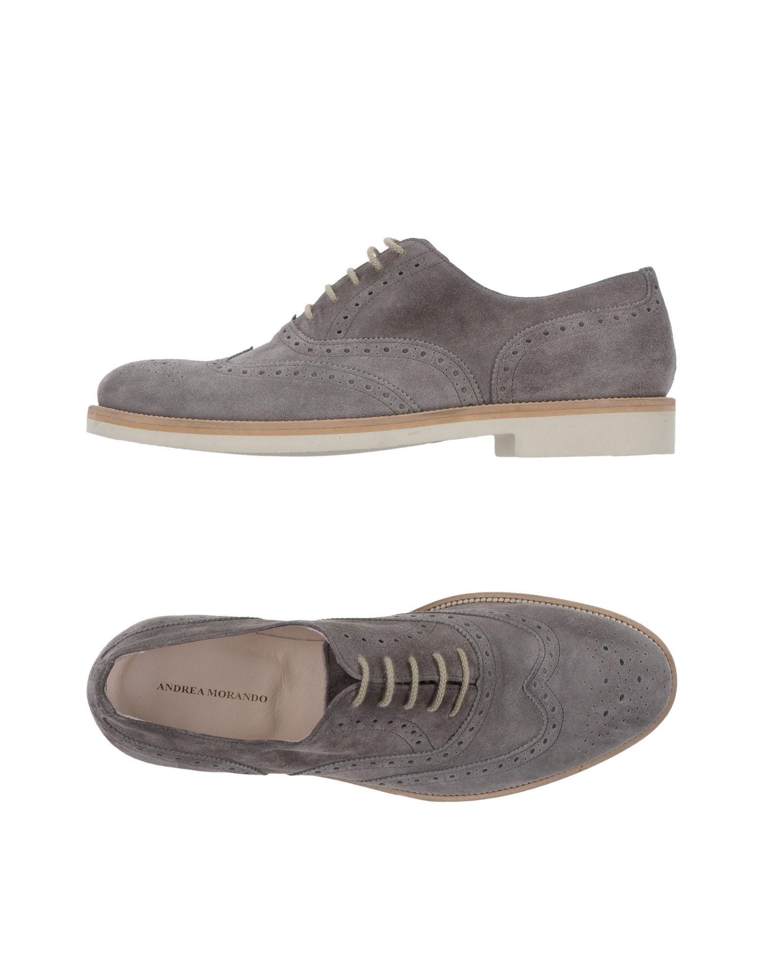 Rabatt echte Schuhe Andrea Morando Schnürschuhe Herren  11359873MP