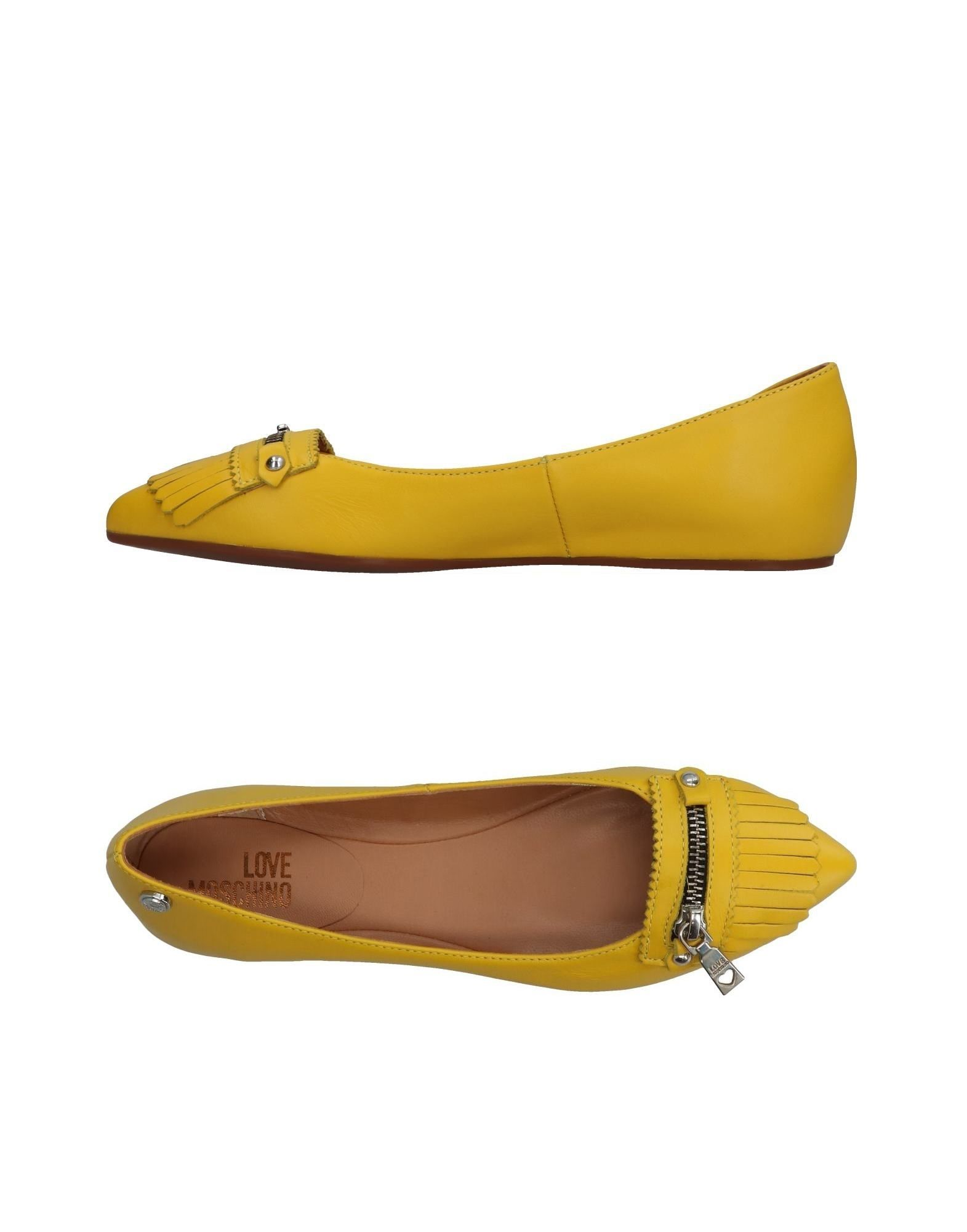 Love Moschino Ballerinas Damen  11359978NA Neue Schuhe