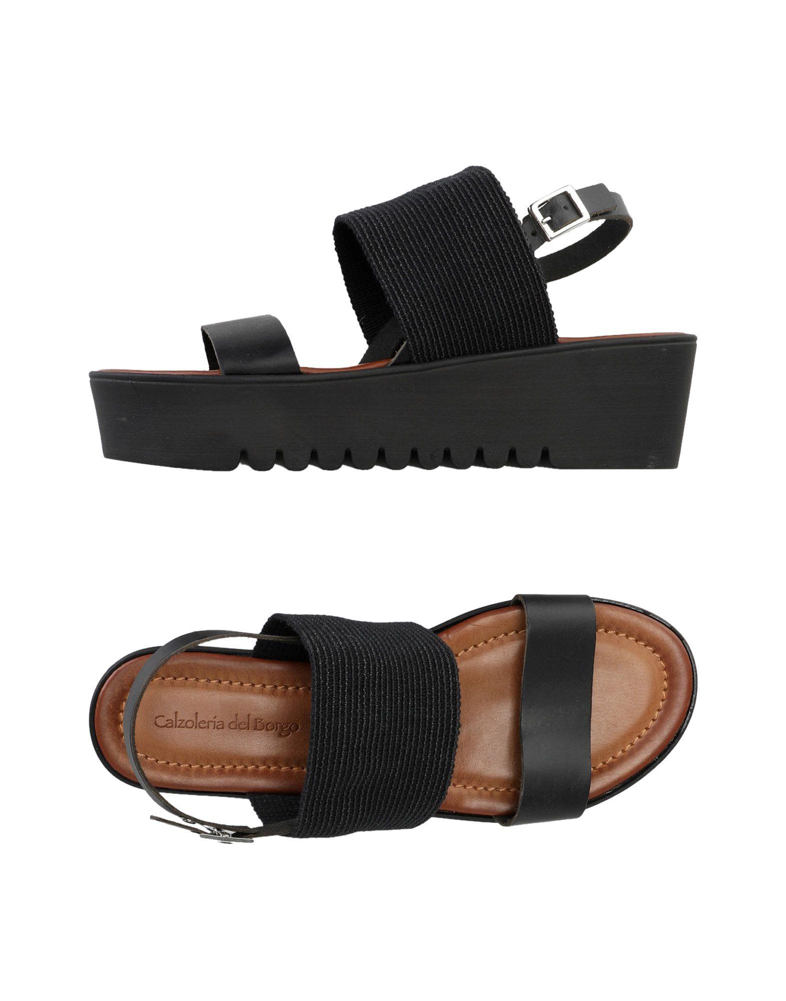 Calzoleria Del Borgo Sandalen Damen  11360280KO Gute Qualität beliebte Schuhe