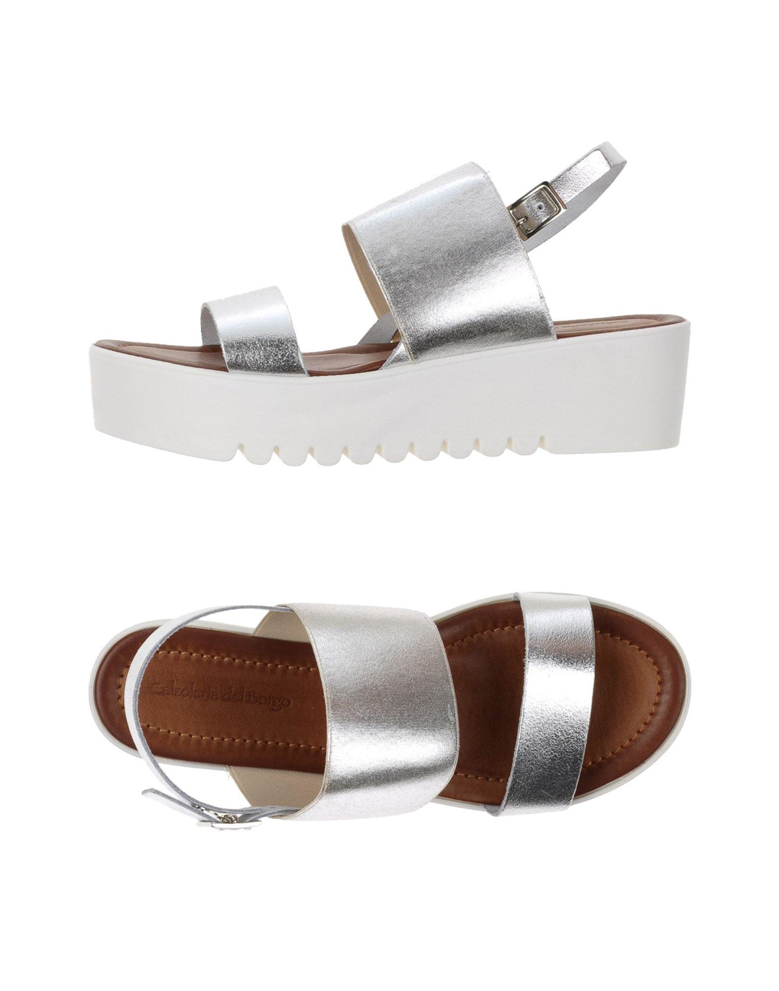 Calzoleria Del Borgo Sandalen Damen  11360304NB Gute Qualität beliebte Schuhe
