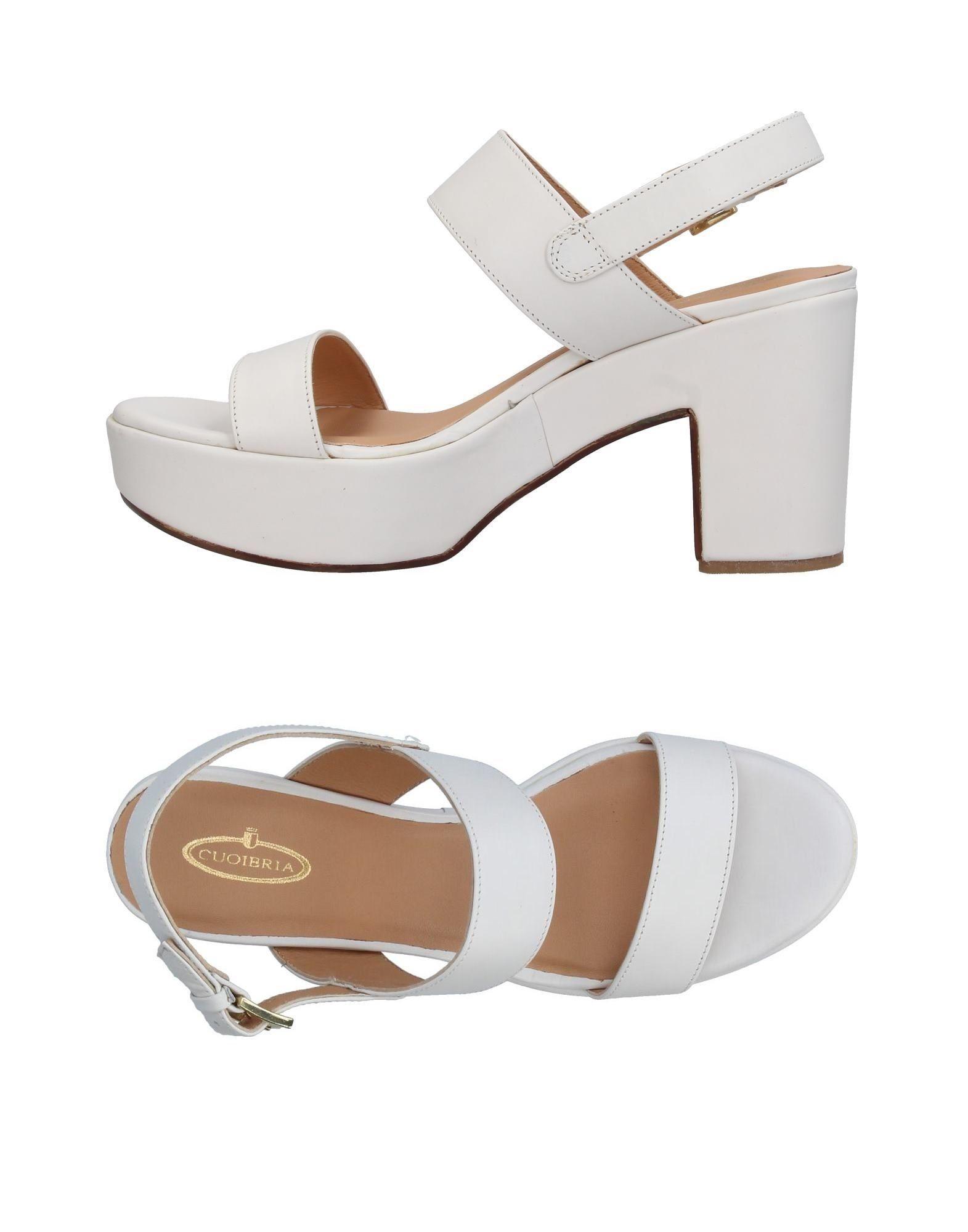 Cuoieria Sandalen Damen  11360386IV Gute Qualität beliebte Schuhe