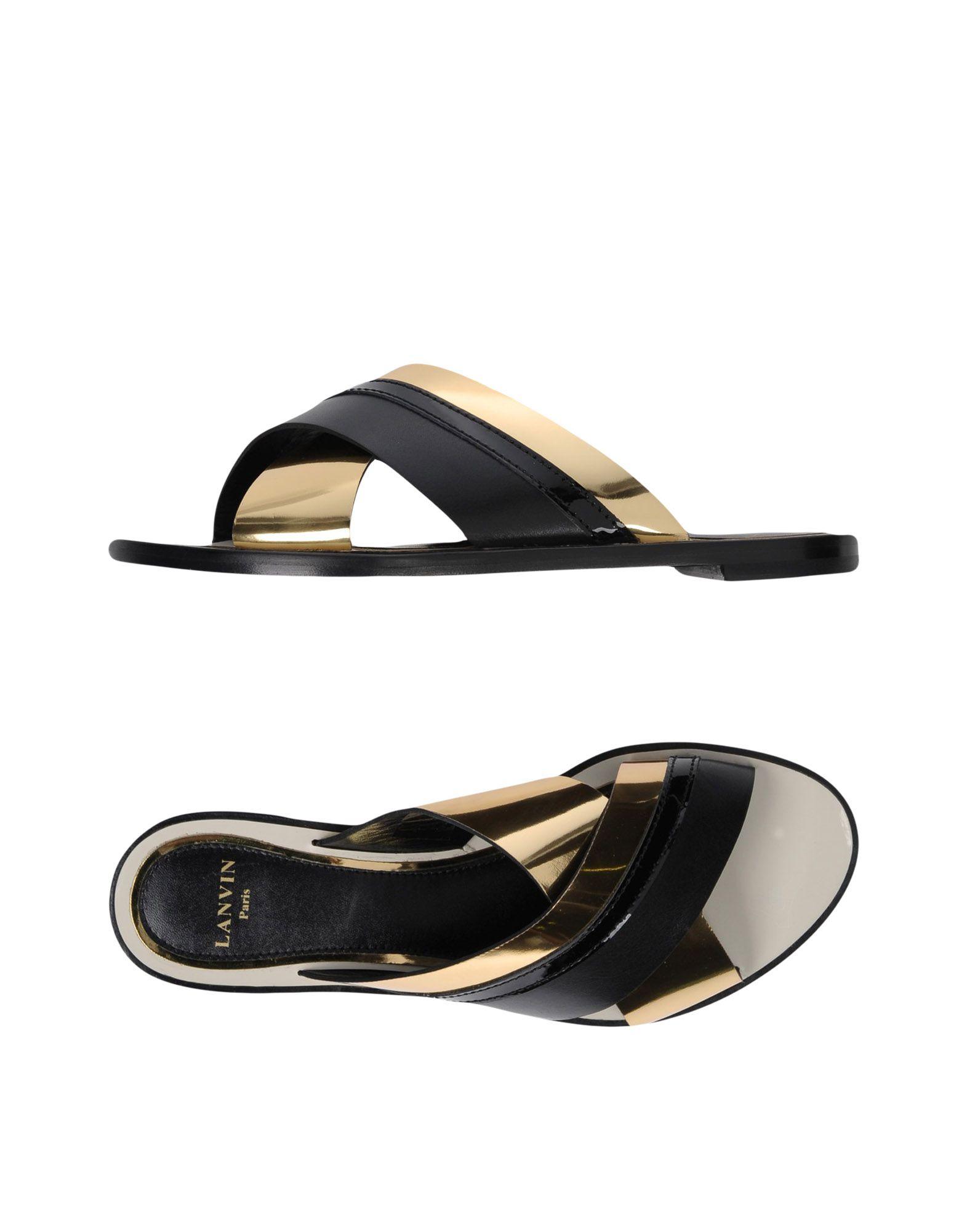 Haltbare Mode billige Schuhe Lanvin Sandalen Damen  11360576OL Heiße Schuhe