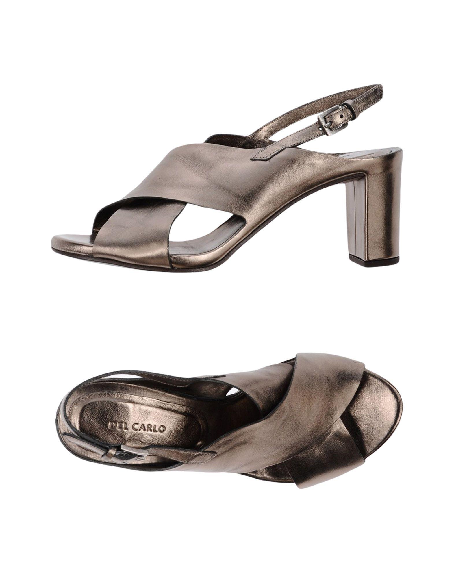 Del Carlo Sandalen Damen  11360850ROGut aussehende strapazierfähige Schuhe