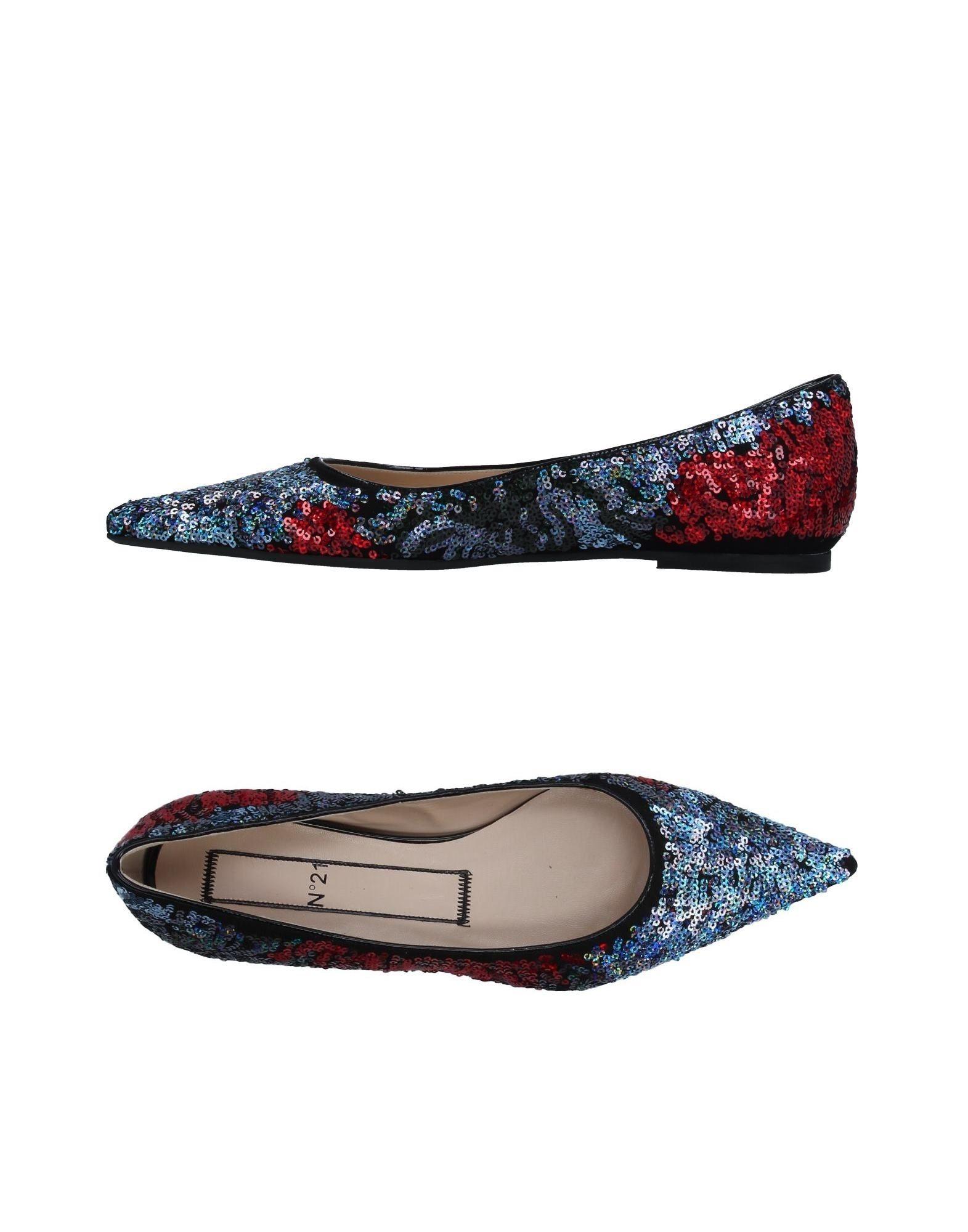 N° 21 Ballerinas Damen  11360853ECGut aussehende strapazierfähige Schuhe
