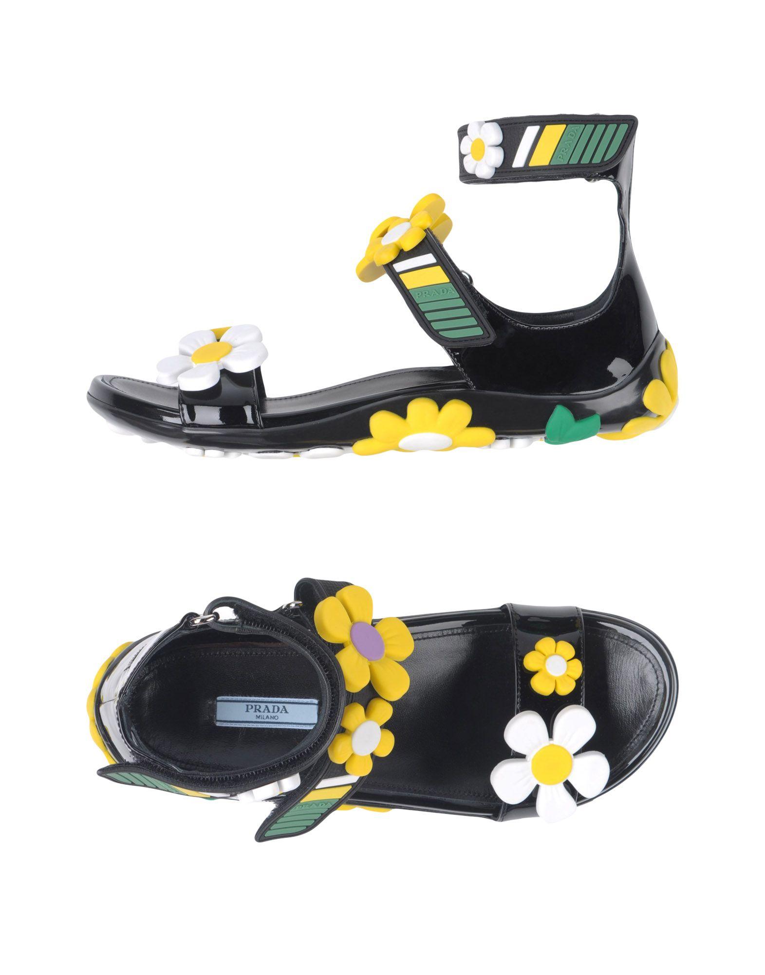 Prada Sandalen Damen  11360916CRGünstige gut aussehende Schuhe