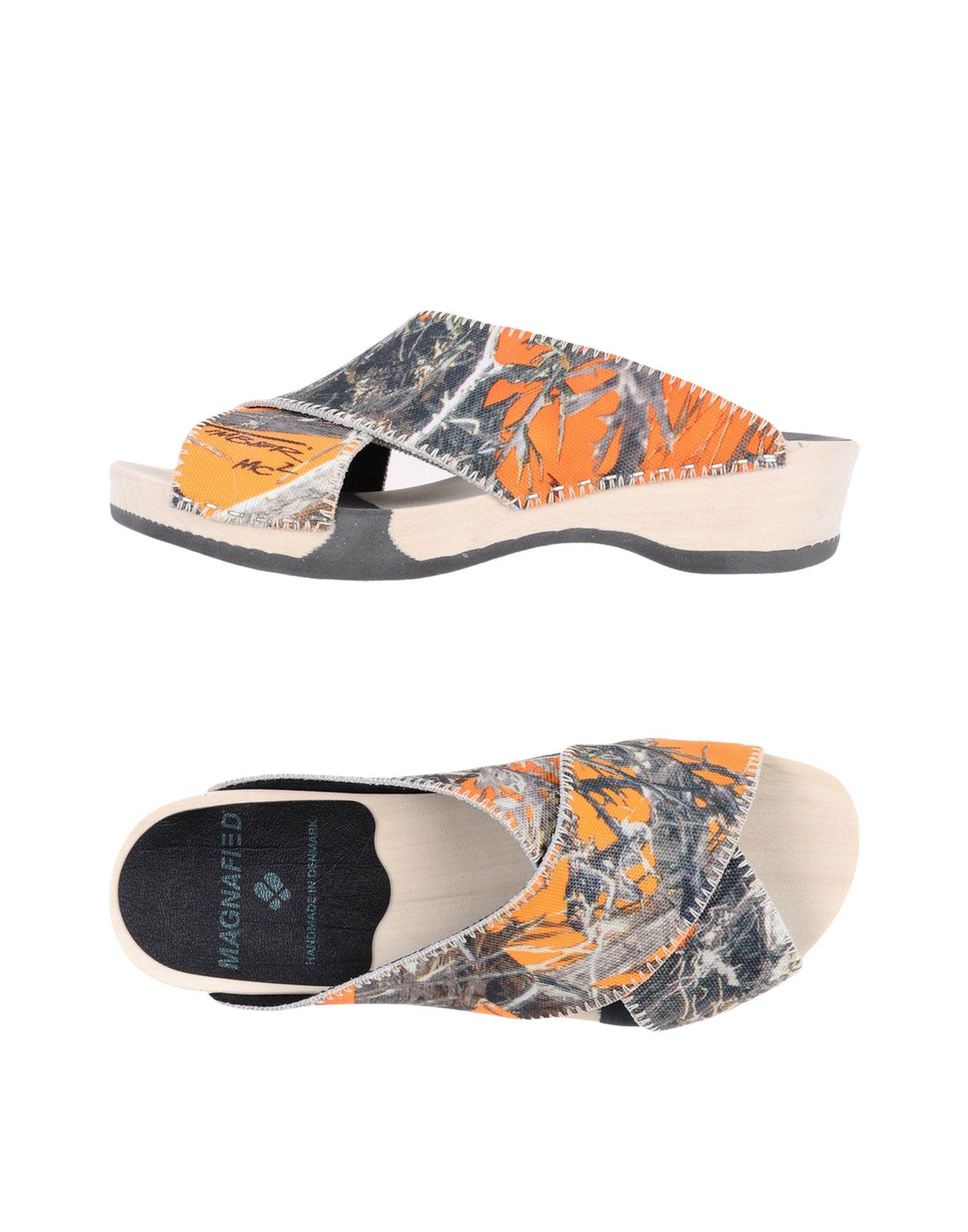 Haltbare Mode billige Schuhe Magnafied Pantoletten Damen  11360945XA Heiße Schuhe