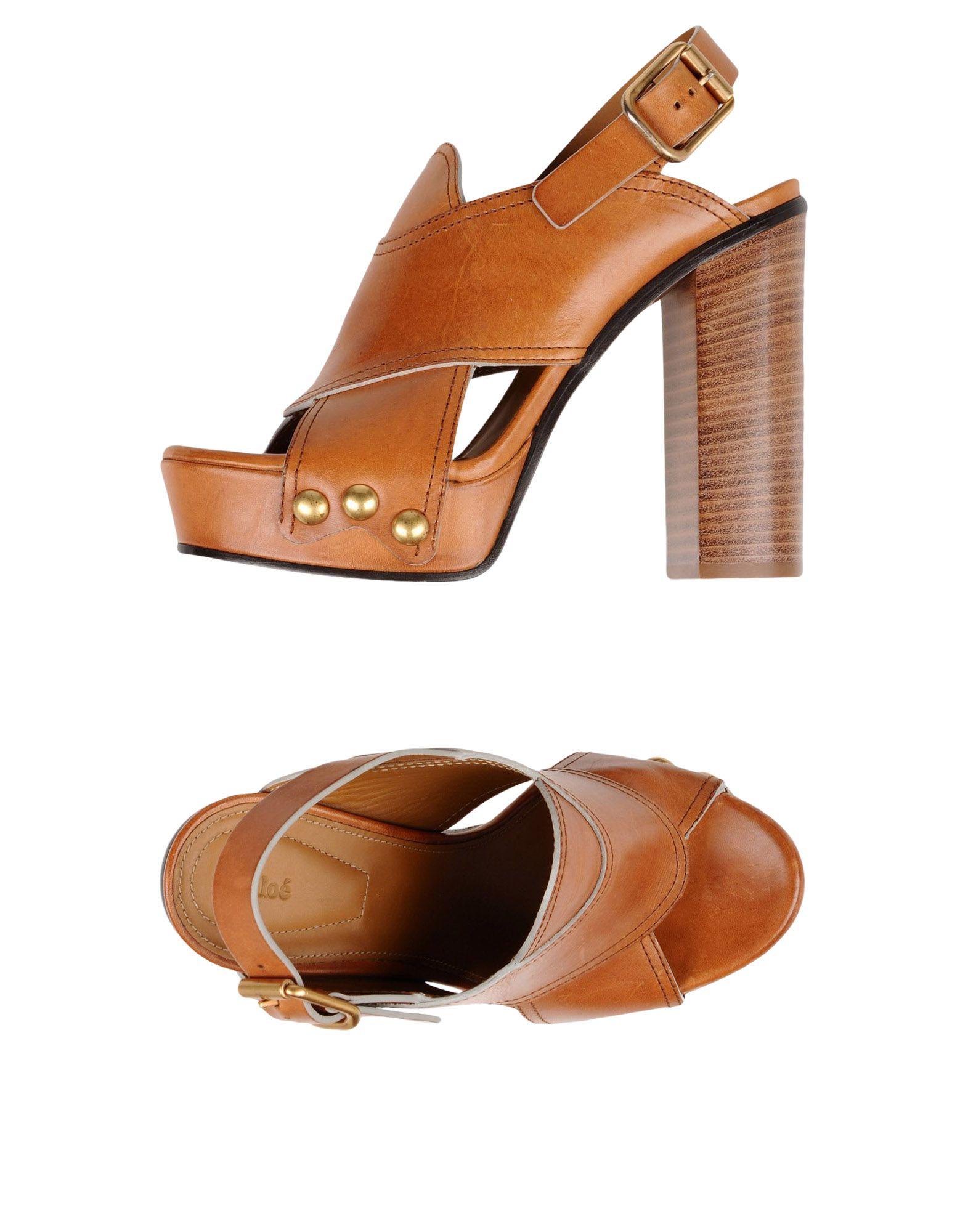Rabatt Schuhe Chloé Sandalen Damen  11360978HN