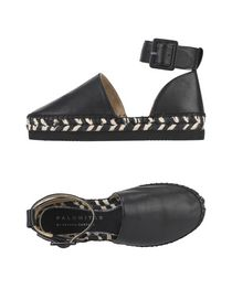 Women PALOMITAS by PALOMA BARCEL Espadrilles Black designer fashion