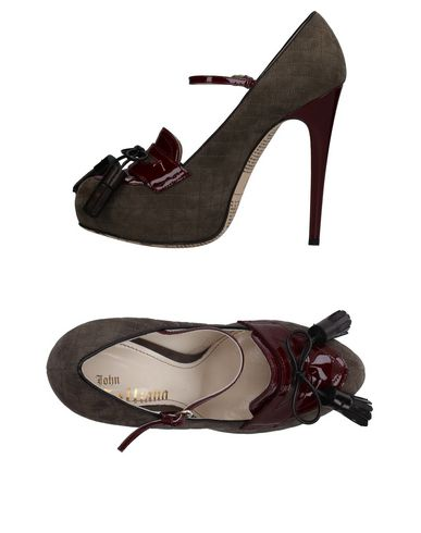 Casual salvaje Mocasín John Galliano Mujer - Mocasines Gris John Galliano - 11361973CA Gris Mocasines f4cb9d
