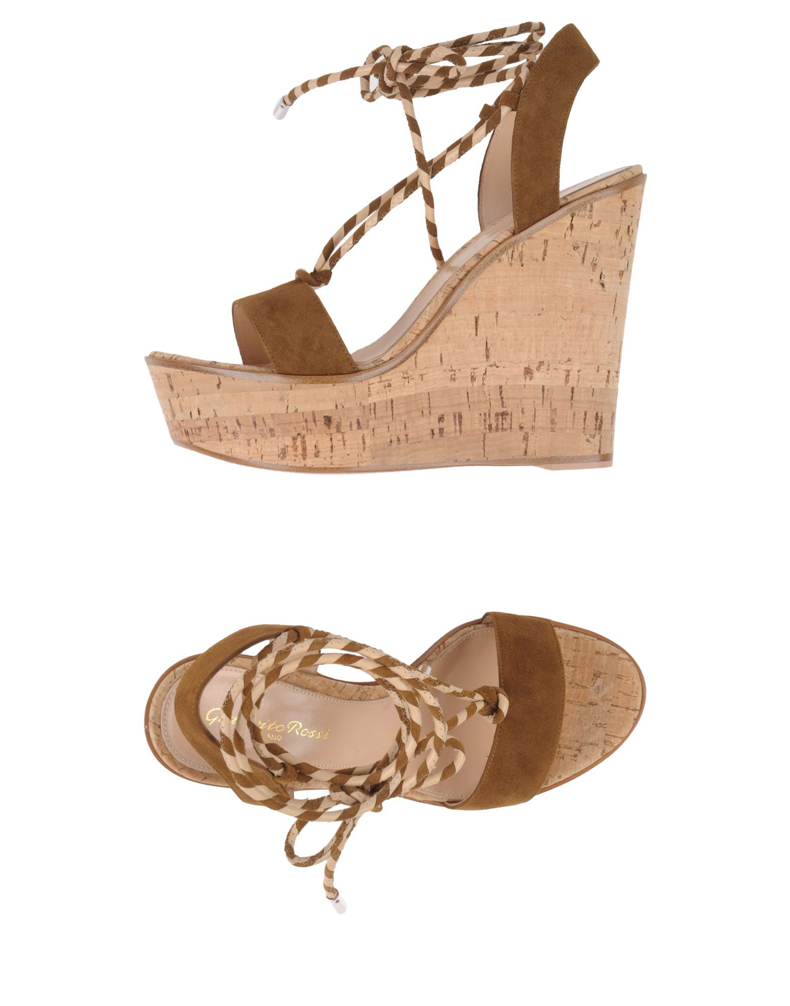 Rabatt Schuhe Gianvito Rossi Sandalen Damen  11362150SN