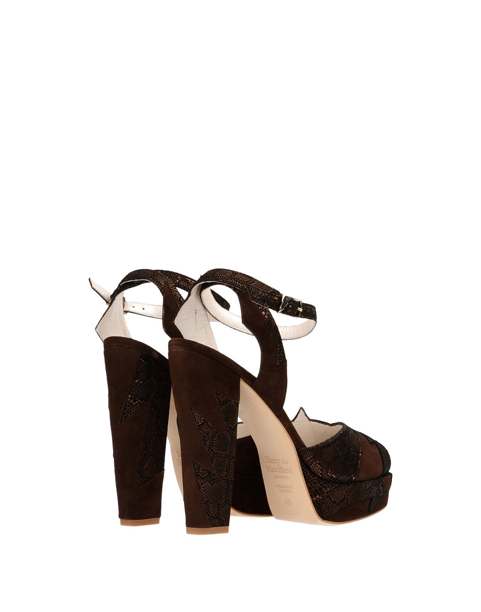 Terry De Havilland aussehende Sandalen Damen  11362701DOGut aussehende Havilland strapazierfähige Schuhe a88b74