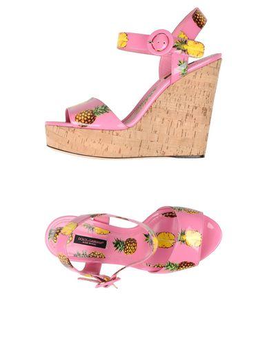 6edeb5cc5c1 Πέδιλο Dolce & Gabbana Γυναίκα - Πέδιλα Dolce & Gabbana στο YOOX - 11362761