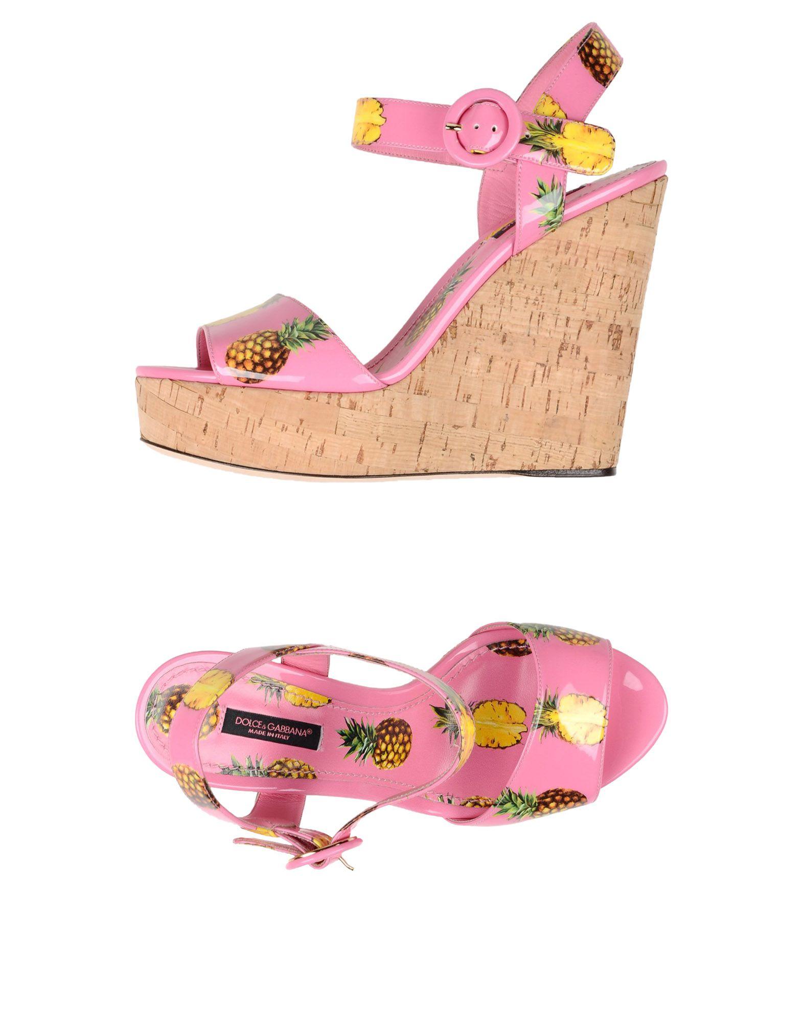Scarpe economiche e resistenti Sandali Dolce & Gabbana Donna