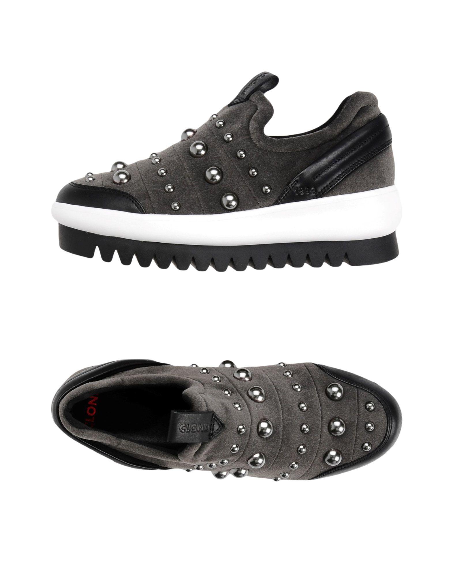 Zapatillas Clone Rocmoon - - Mujer - - Zapatillas Clone  Gris 8e75da