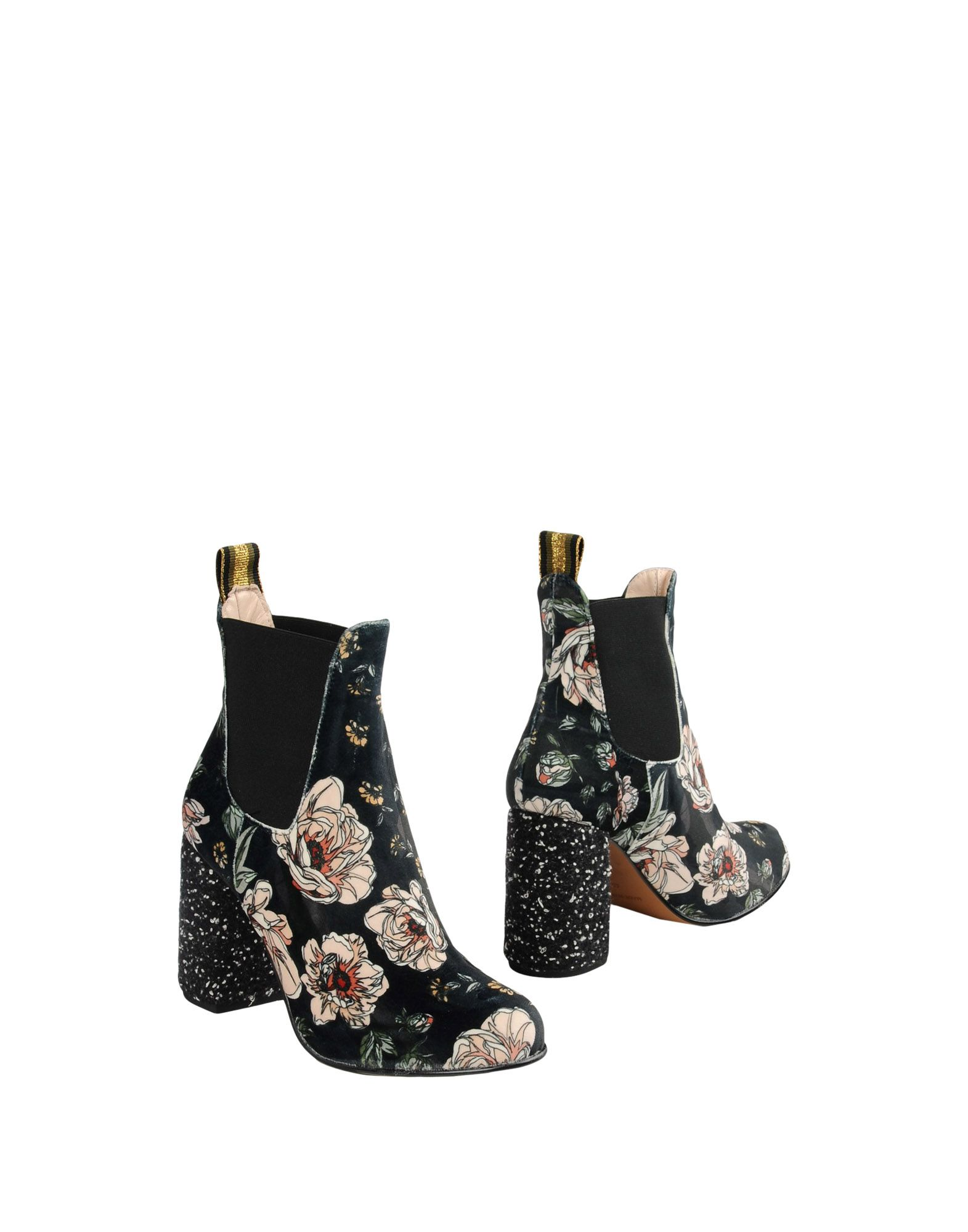 Bottine Leo Studio Design Printed Ankle Boots - Femme - Bottines Leo Studio Design Vert foncé Chaussures casual sauvages