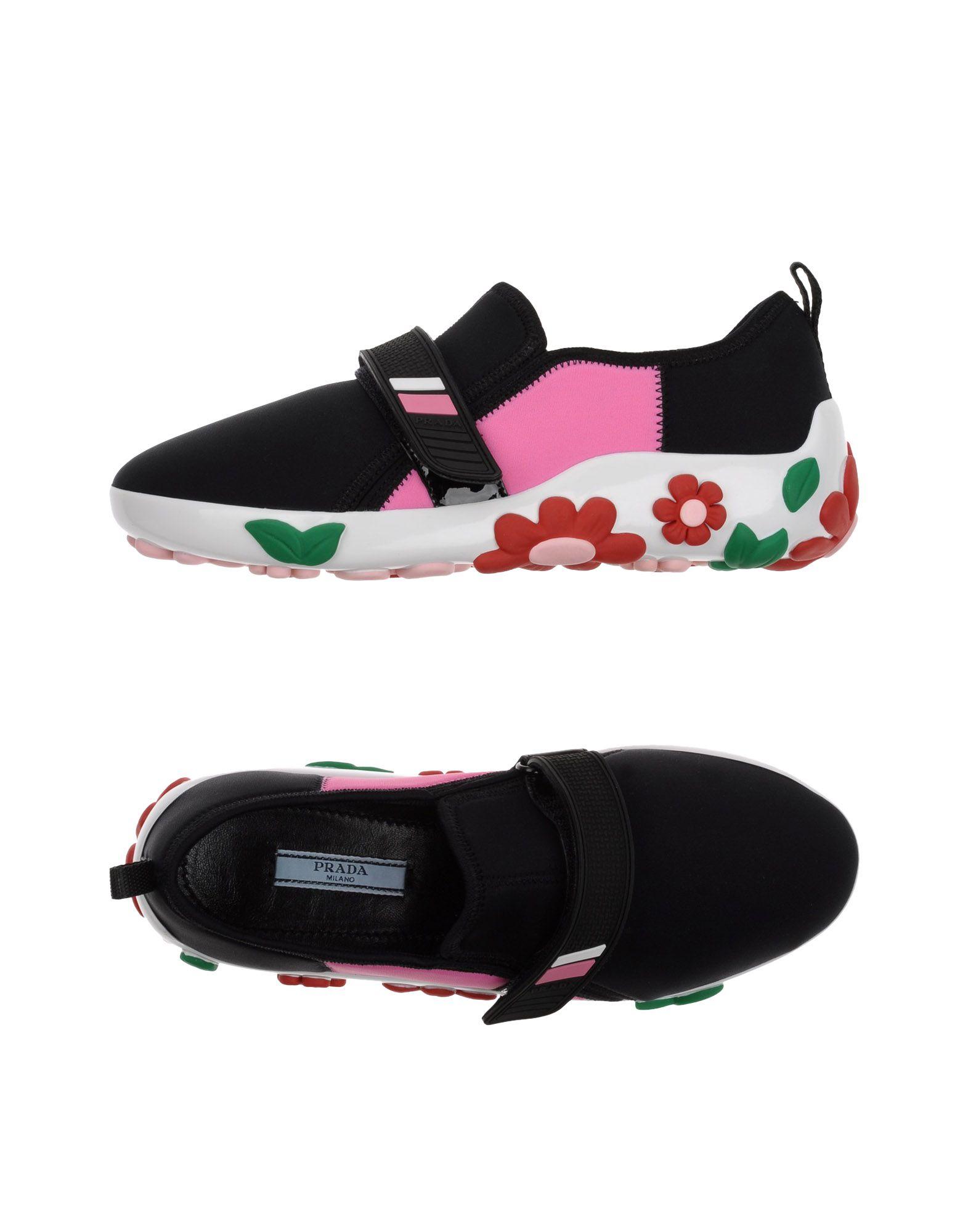 Prada gut Sneakers Damen  11363293HGGünstige gut Prada aussehende Schuhe 17fb2c