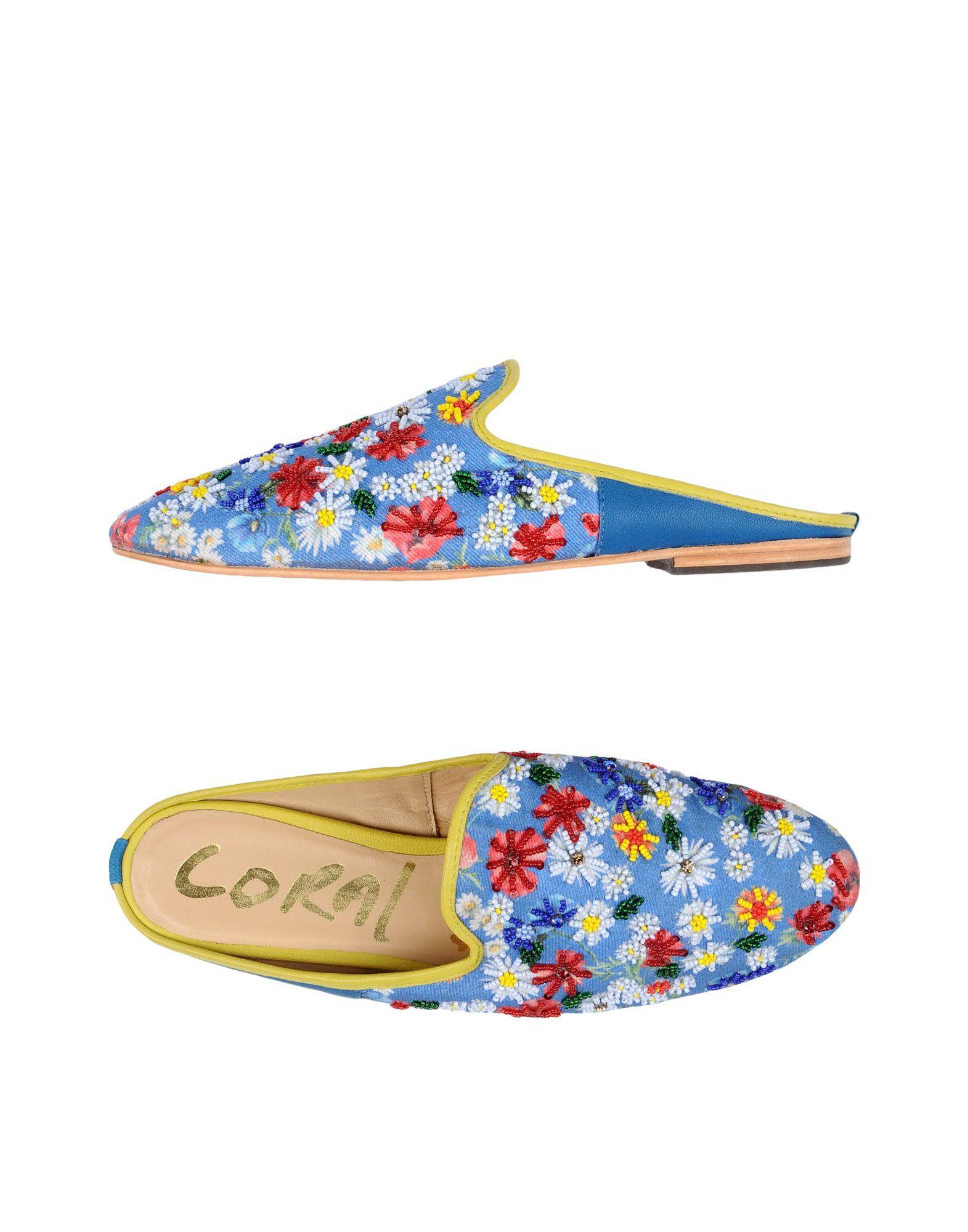 Coral Blue Pantoletten Damen   11363299BP   cae2ba