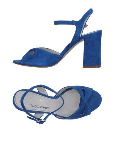 Los zapatos más populares para hombres Mujer y mujeres Sandalia Borgonuovo Mujer hombres - Sandalias Borgonuovo - 11364094SH Azul oscuro 6eca1b