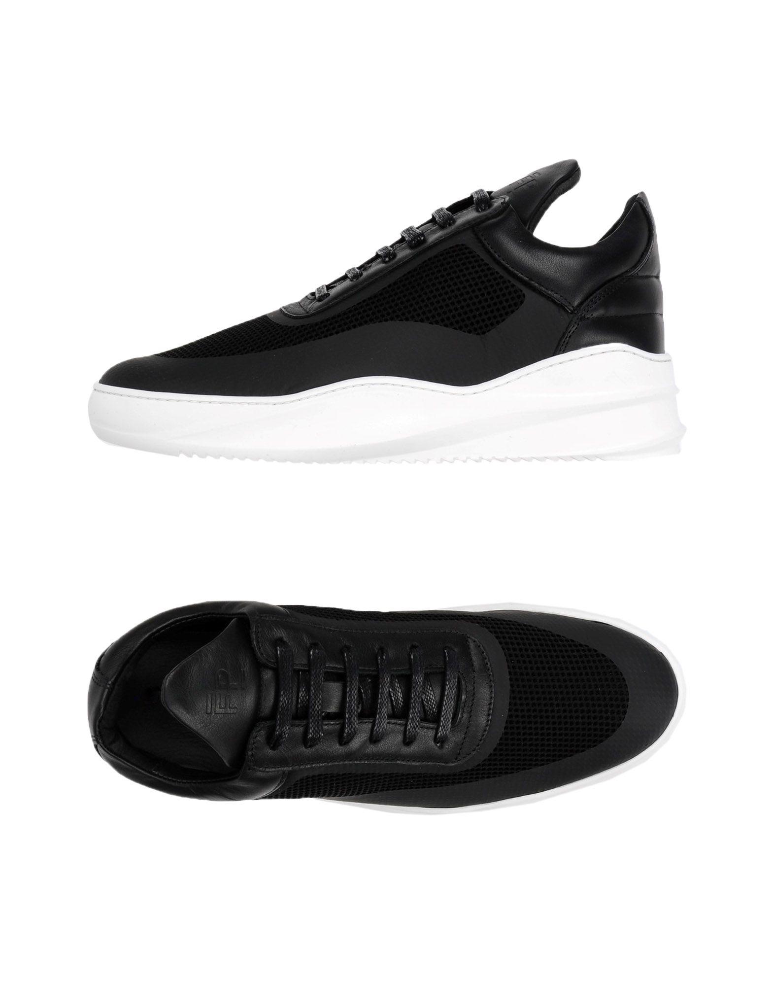 Sneakers Filling Pieces Homme - Sneakers Filling Pieces  Noir Confortable et belle