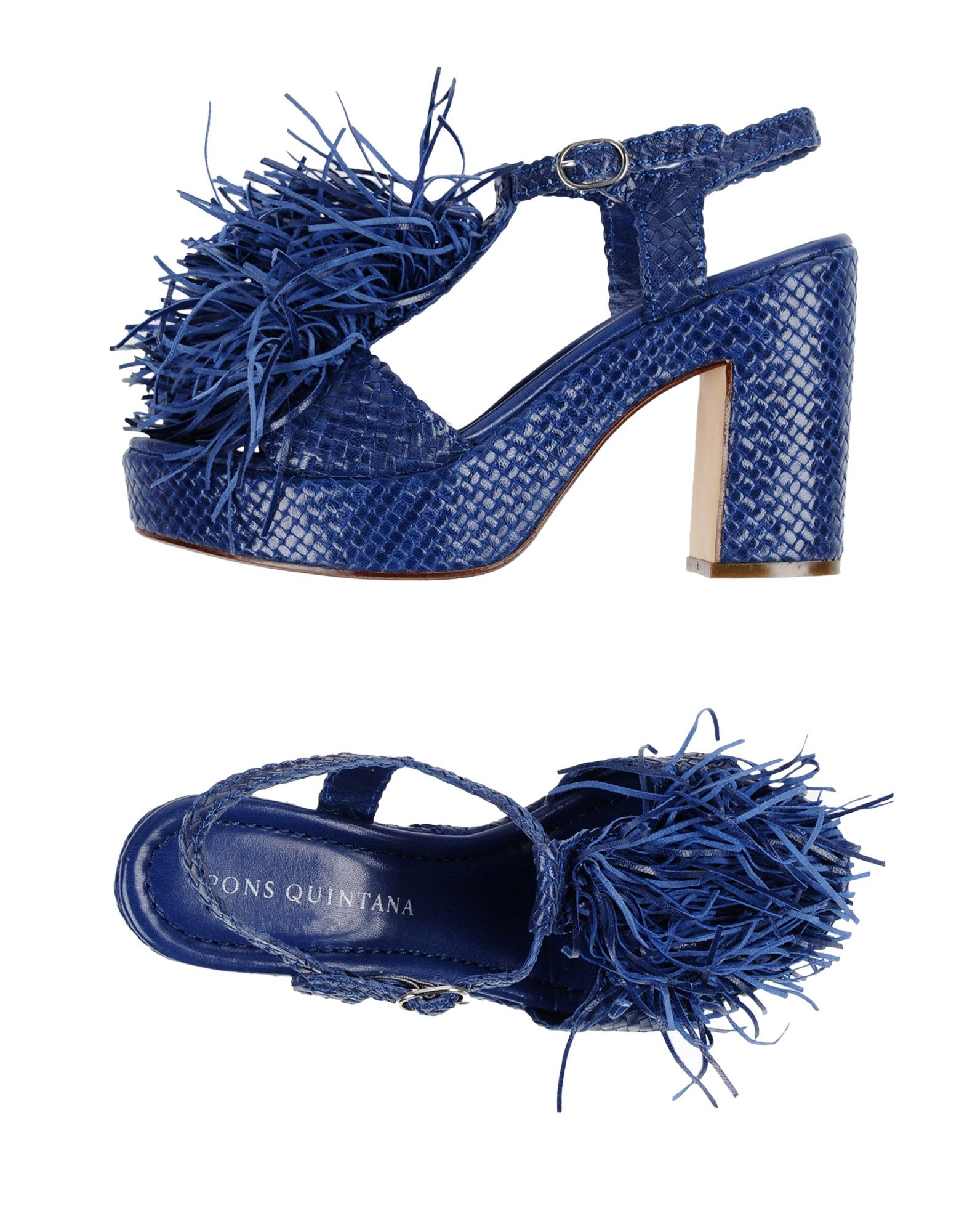 Stilvolle billige Schuhe Pons Quintana Sandalen Damen  11365074RX