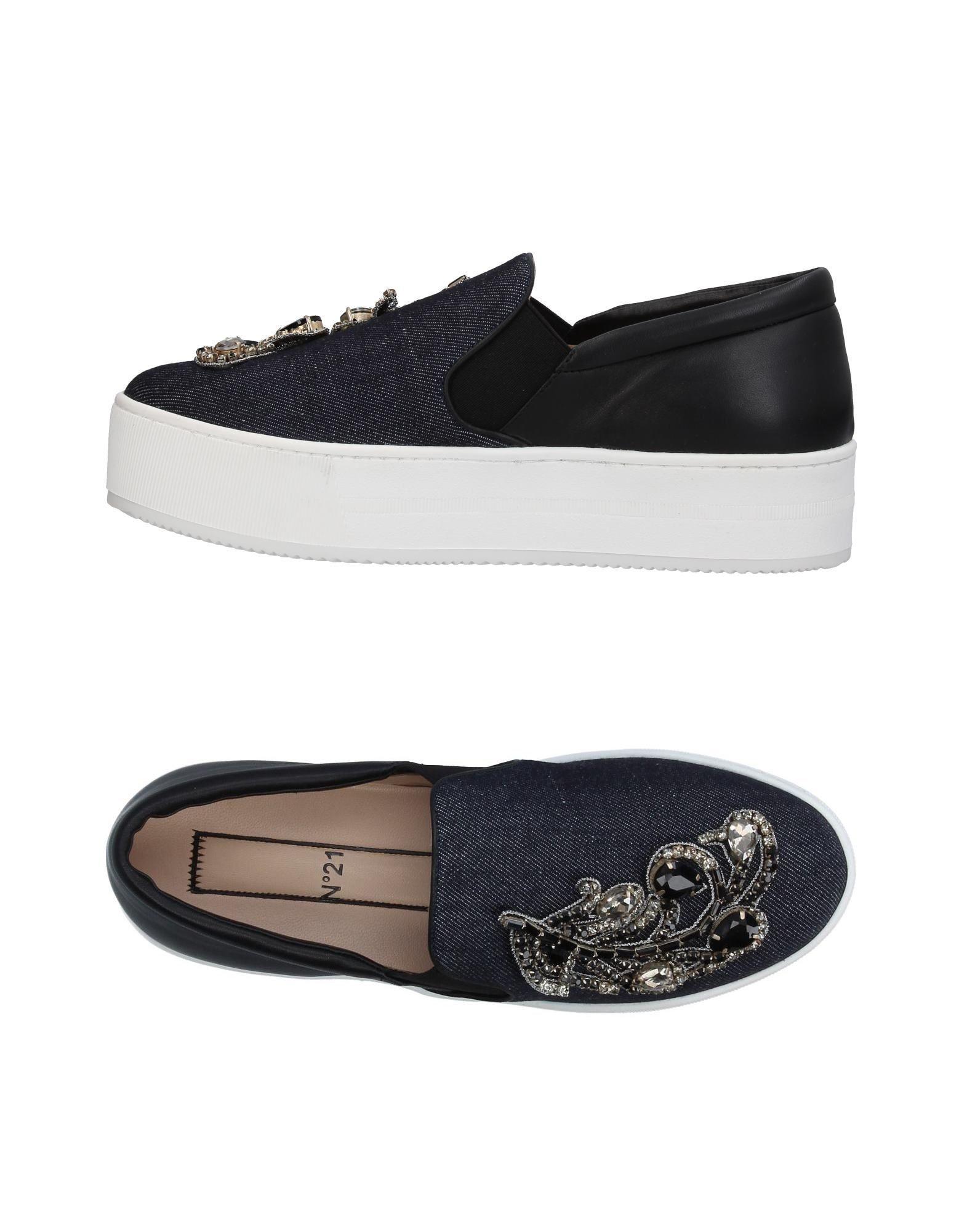 Zapatillas 21 N° 21 Zapatillas Mujer - Zapatillas N° 21  Azul marino a8eebe