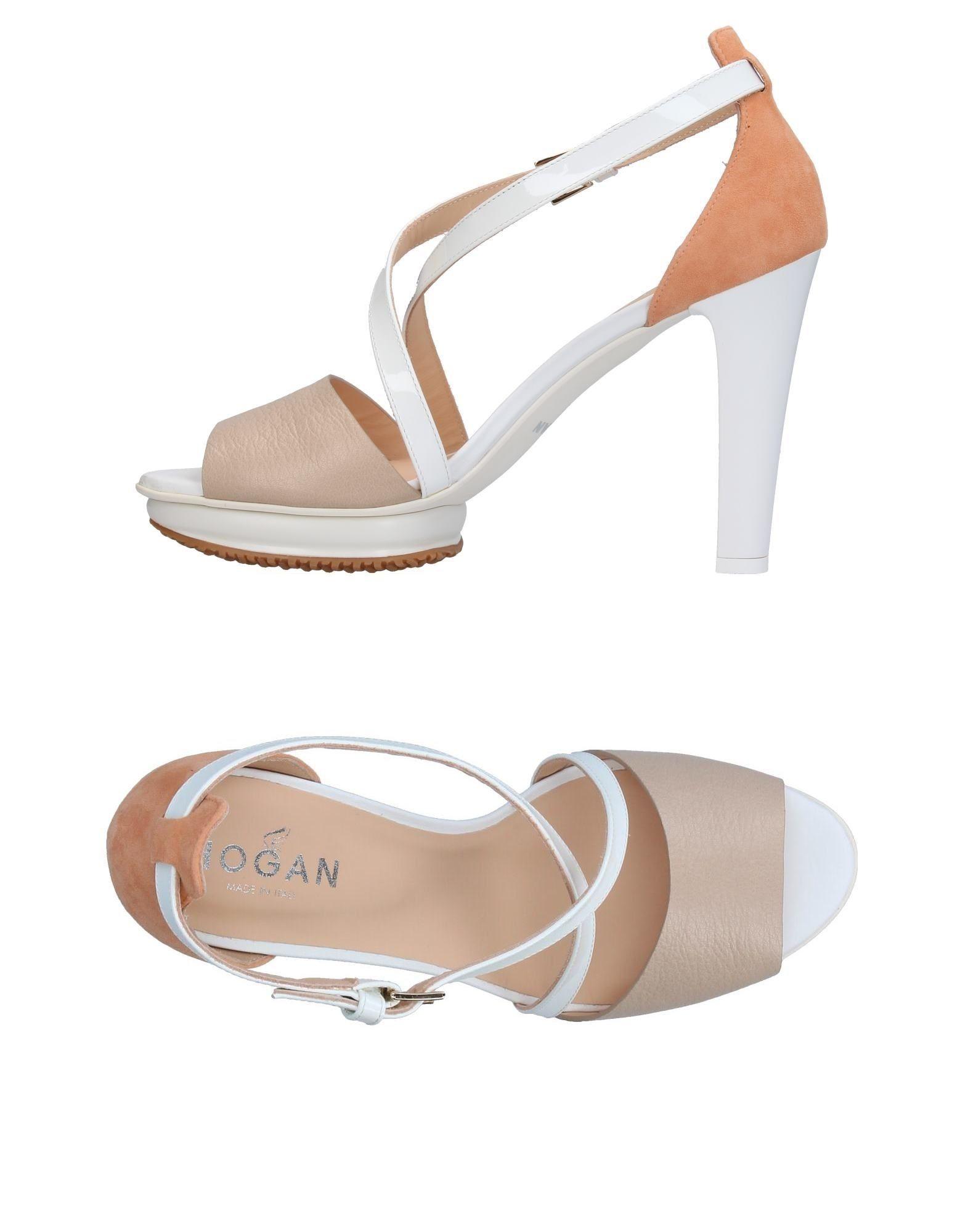 Hogan Sandalen strapazierfähige Damen  11365392PHGut aussehende strapazierfähige Sandalen Schuhe f9f0f7