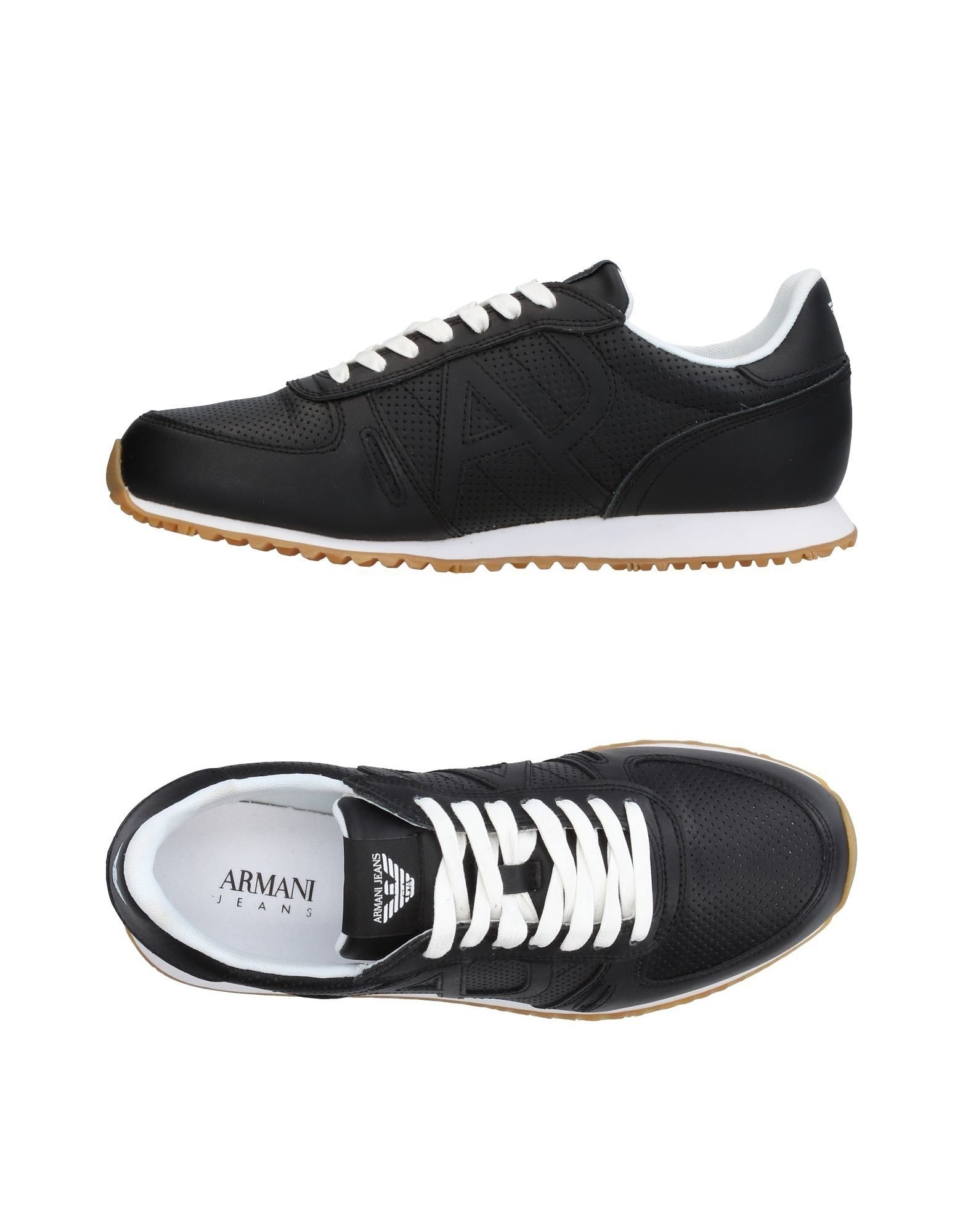 Rabatt echte Schuhe Armani Jeans Sneakers Herren  11365416NJ