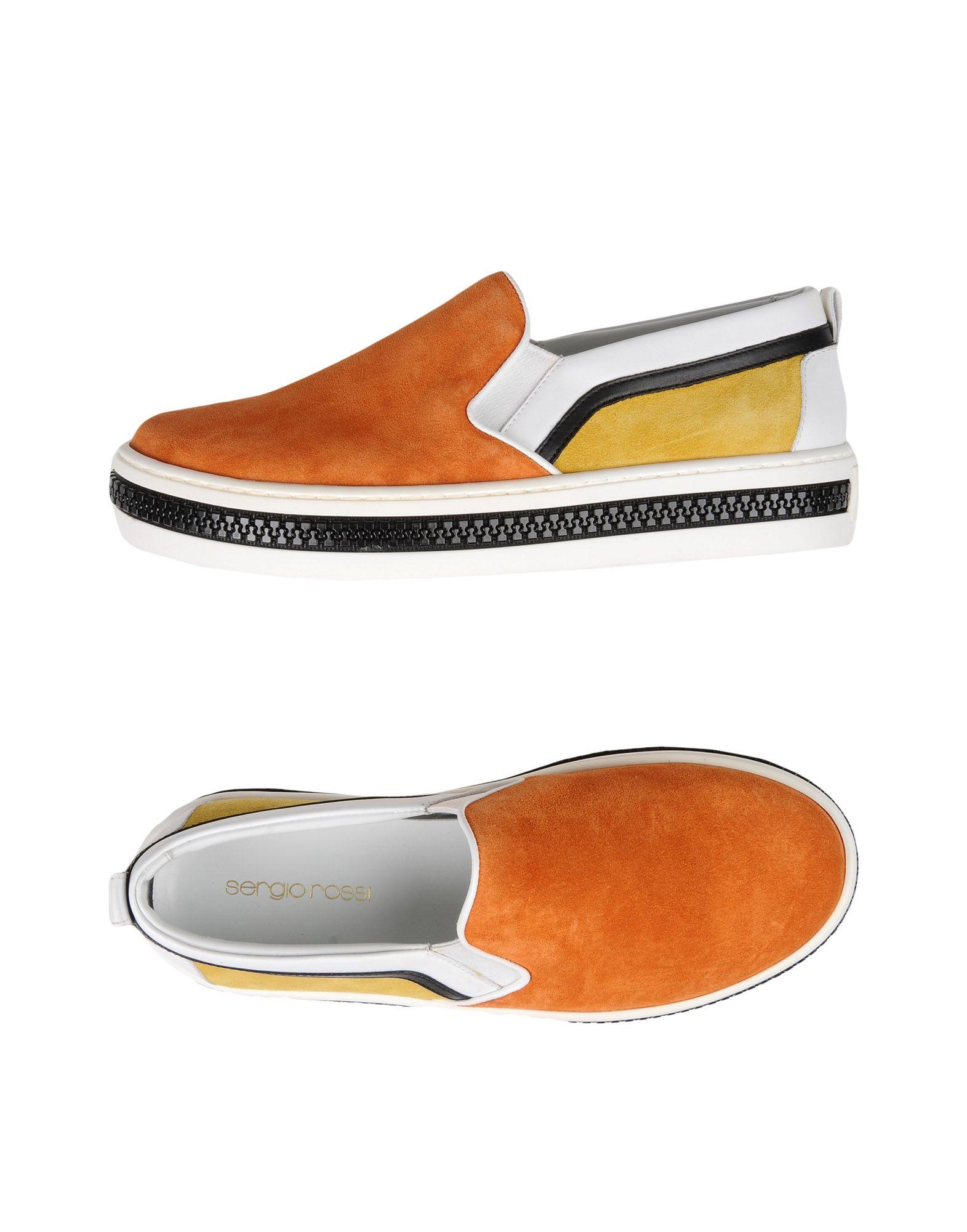 Zapatos mujer de mujer baratos zapatos de mujer Zapatos Zapatillas Sergio Rossi Mujer - Zapatillas Sergio Rossi  Naranja d62cbb