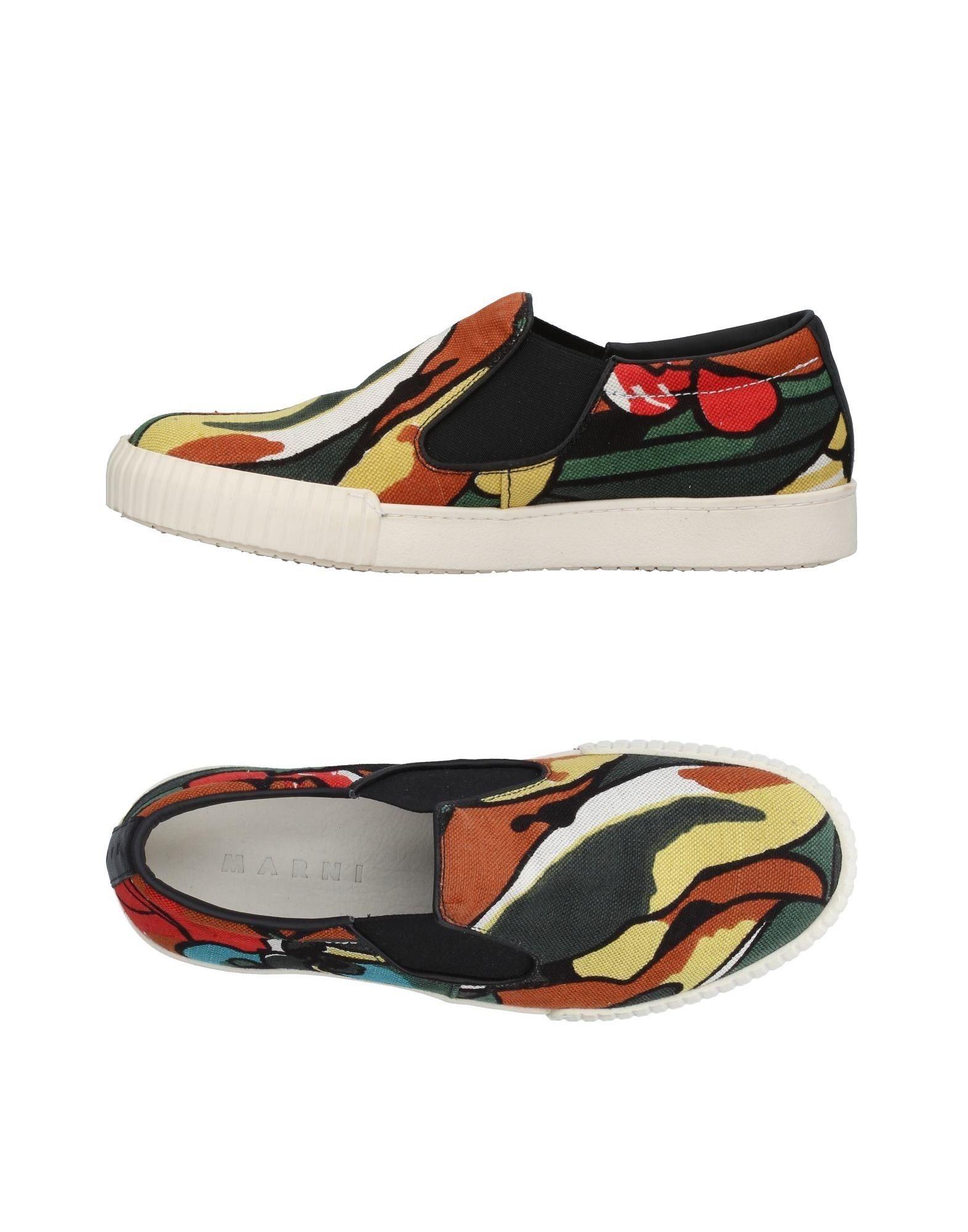 Marni Sneakers Gute Herren  11366063BI Gute Sneakers Qualität beliebte Schuhe 0e0b85