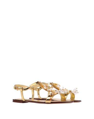 Gabbana Gabbana Dolce Sandales Or Or amp; Dolce amp; Sandales Dolce amp; qw8FFX