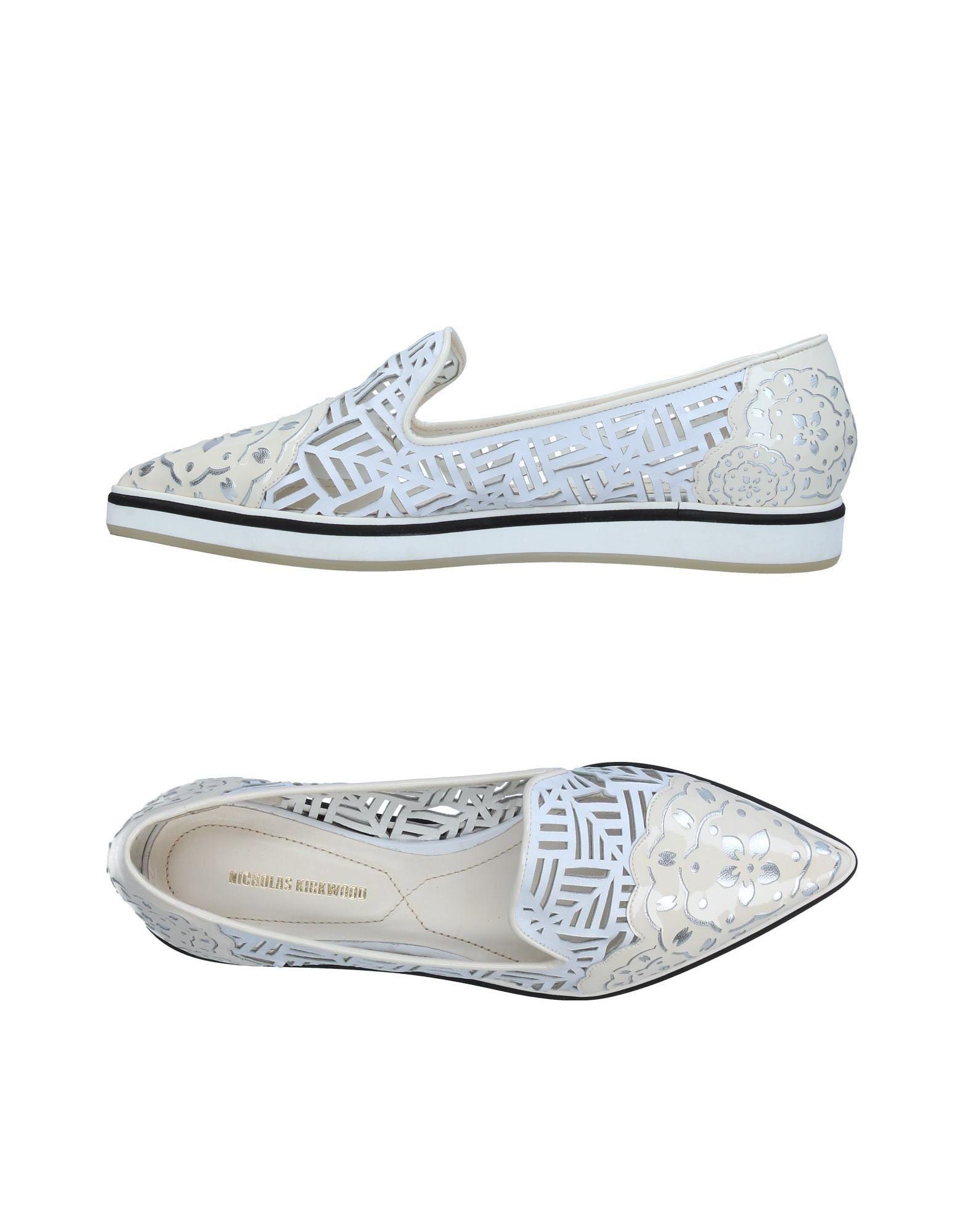 Stilvolle billige Schuhe Nicholas Kirkwood Mokassins Damen  11366534KF