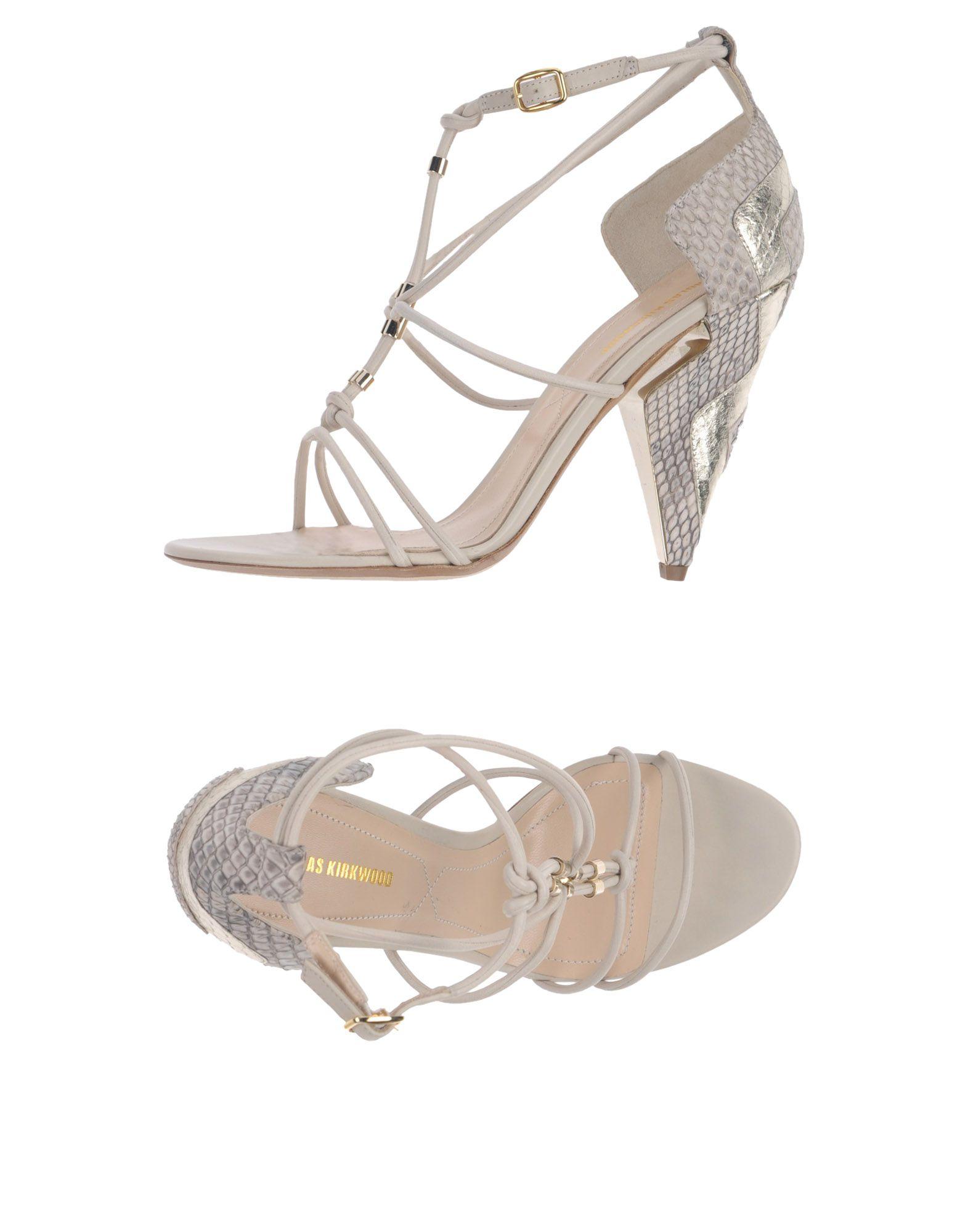 Stilvolle billige Schuhe Nicholas Kirkwood Sandalen Damen  11366555MR