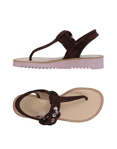 Los últimos zapatos de descuento para hombres y mujeres Tapeet Sandalias De Dedo Vicini Tapeet mujeres Mujer - Sandalias De Dedo Vicini Tapeet - 11367126HD Café 610146