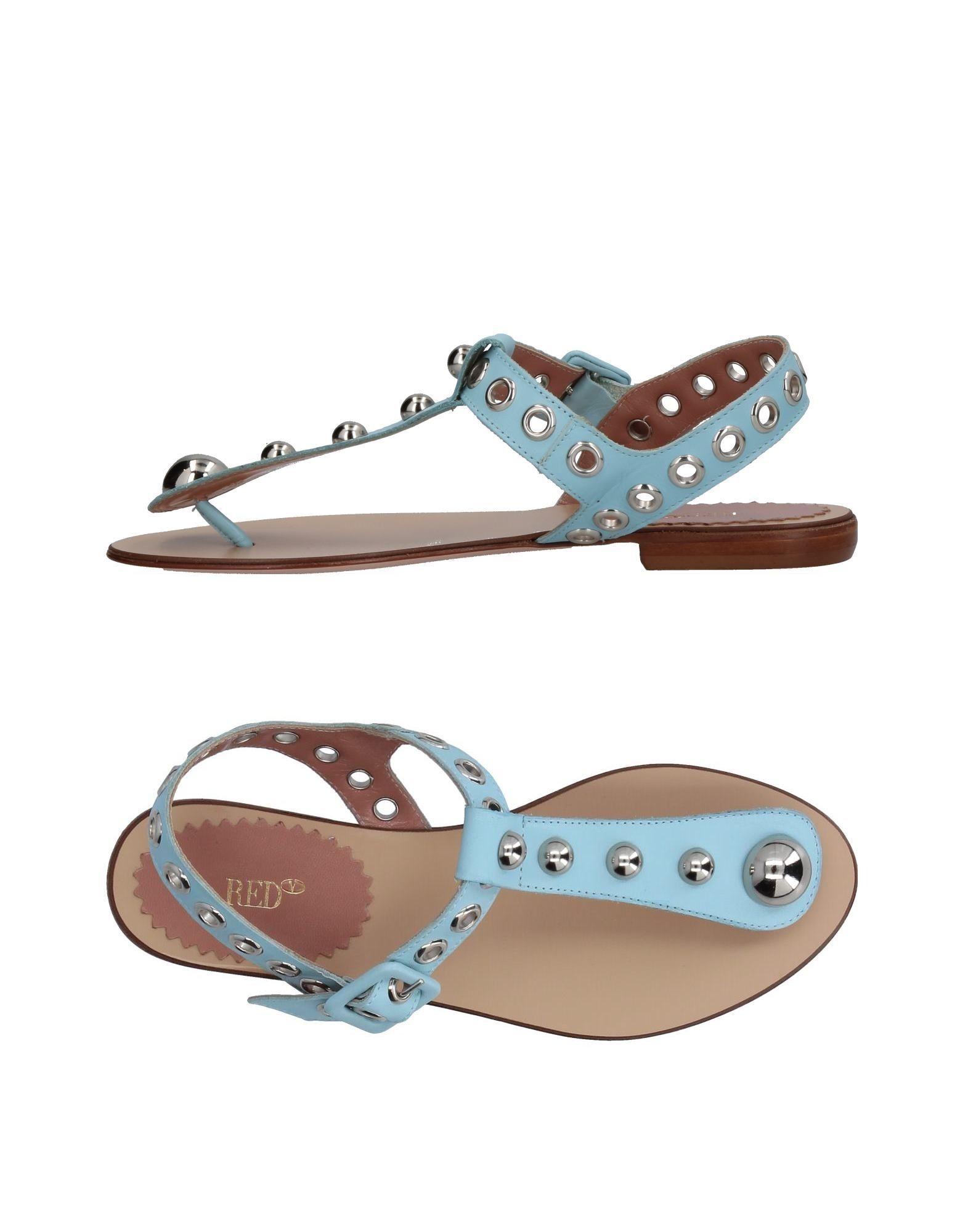 Stilvolle billige Schuhe Red(V) Dianetten Damen  11367183FP
