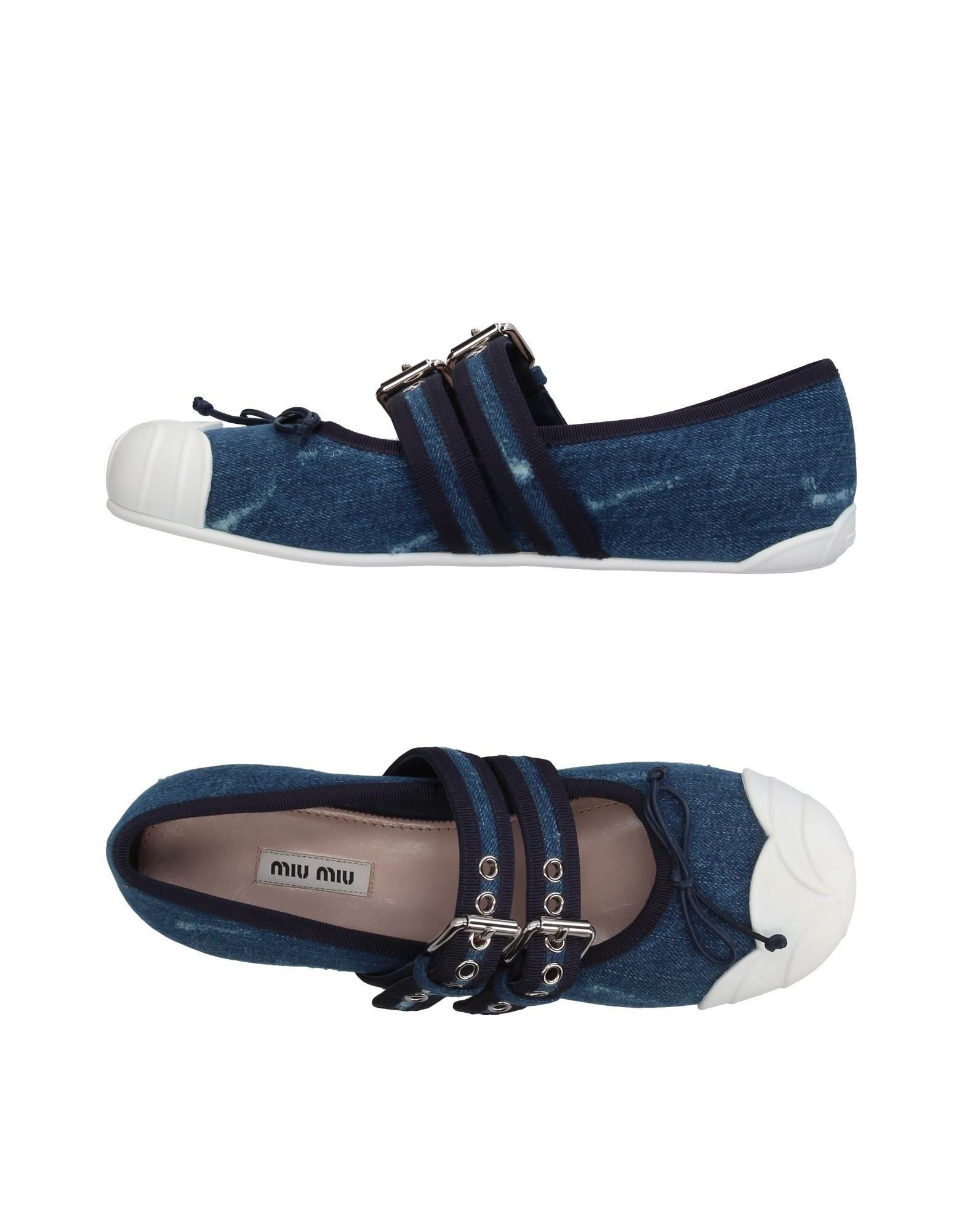 Miu Miu Ballerinas gut Damen  11367273QMGünstige gut Ballerinas aussehende Schuhe 481a11