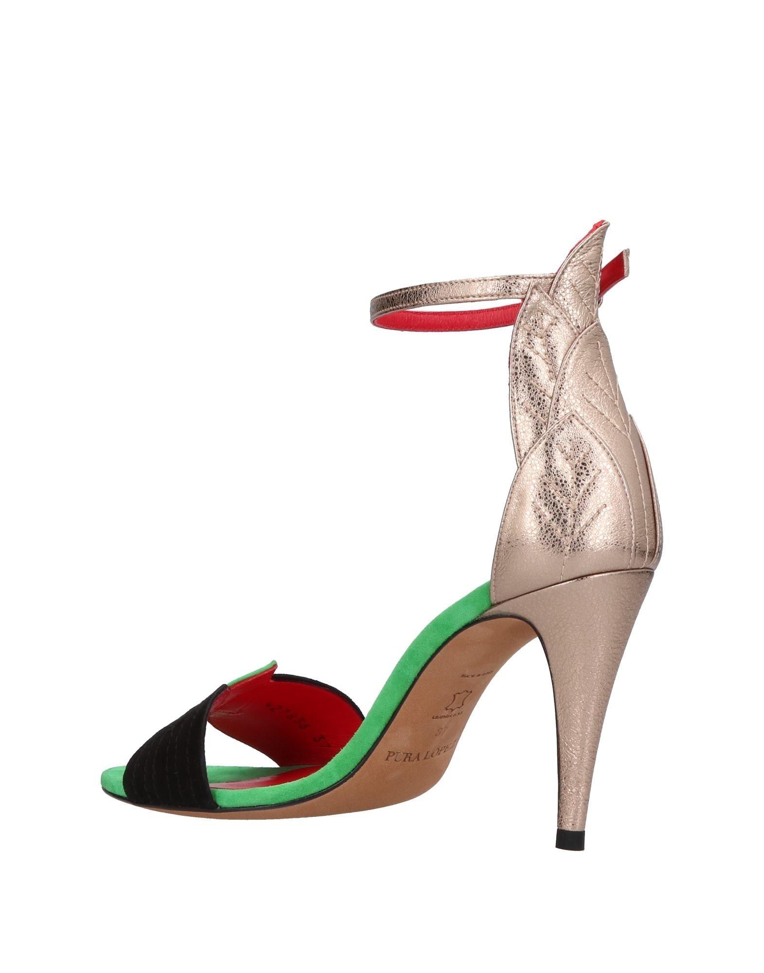 Pura  López Sandalen Damen  Pura 11367902KT Neue Schuhe a66b96