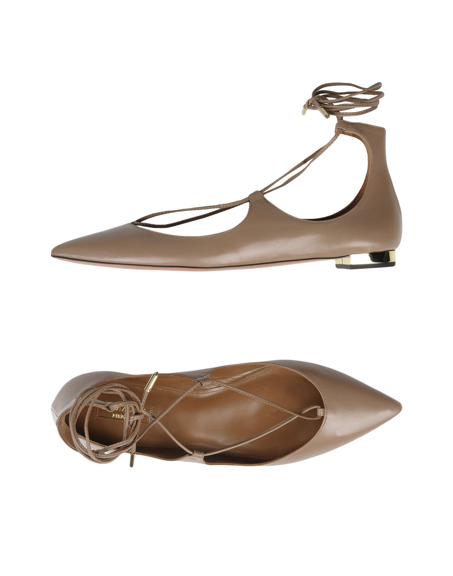 Aquazzura Ballet Flats - Women Aquazzura Ballet Flats - online on  Australia - Flats 11368256NQ cb2948
