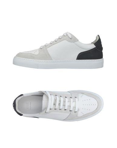 AMI Alexandre Mattiussi White Leather Sneakers iHU2U0